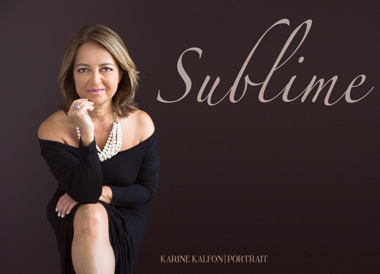 Portrait- 50 is beautiful by Karine Kalfon