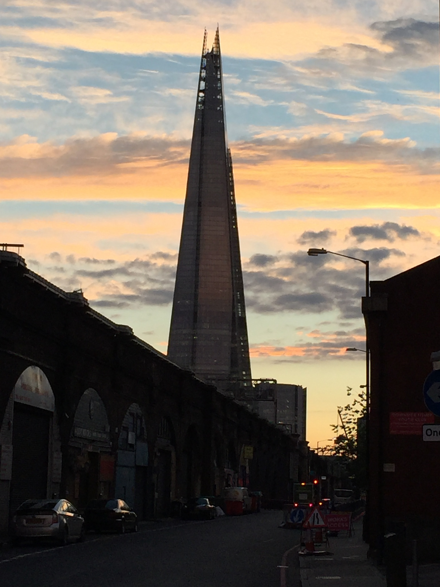 The Shard, London by Tinanina