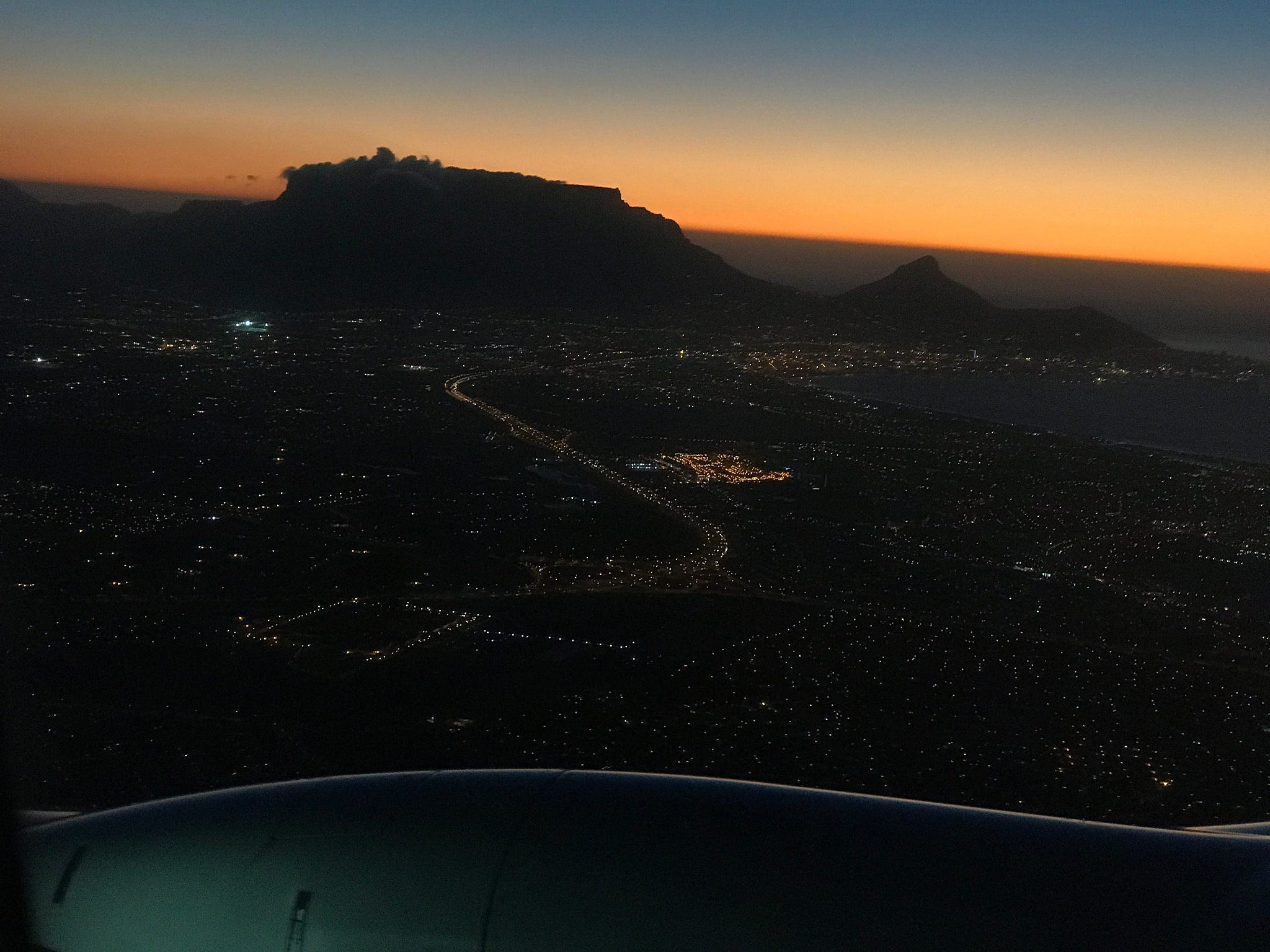 Approaching Cape town by Tinanina