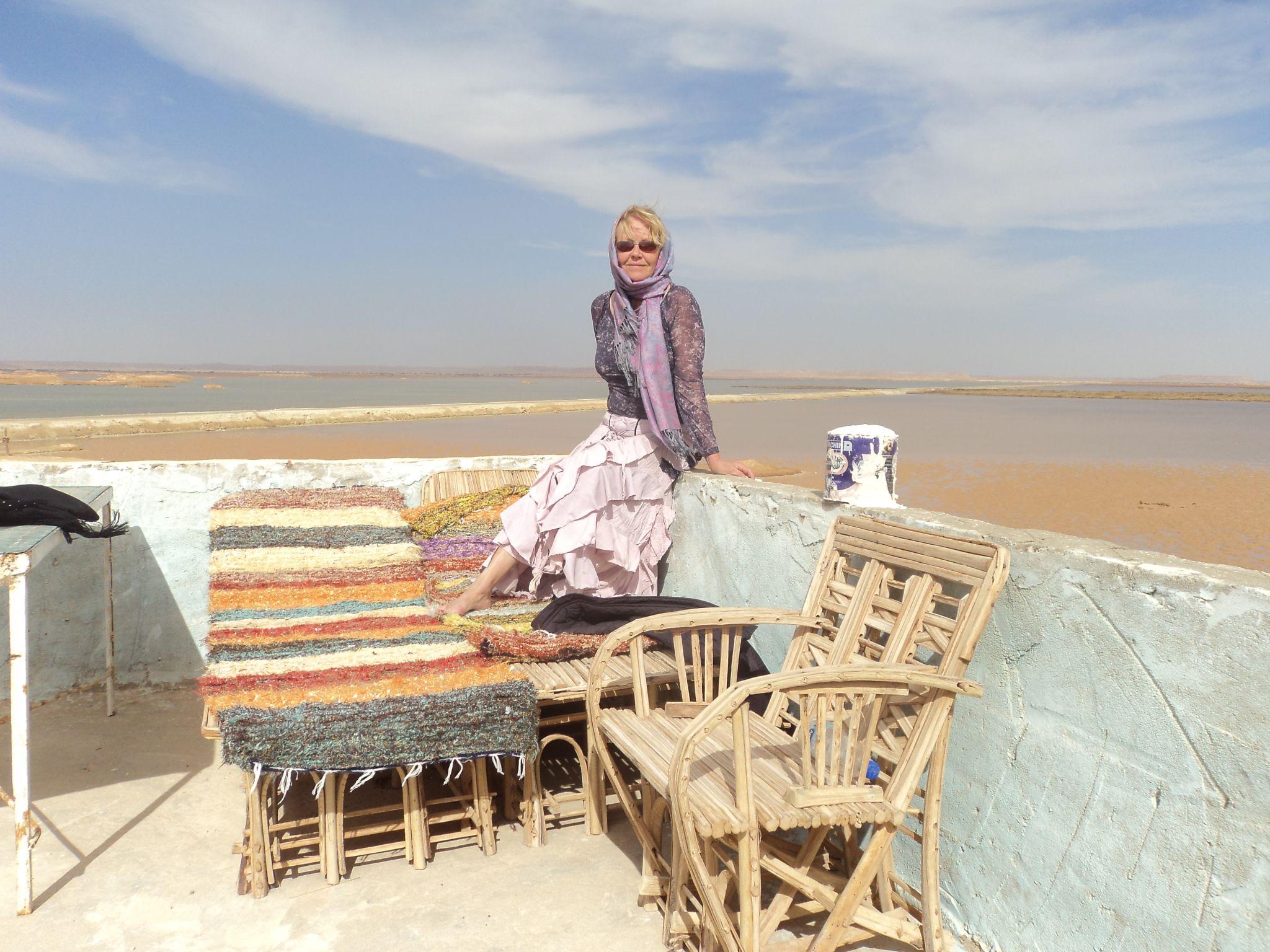 Laura Kamil salt flats, Egypt, 2012 - Siwa oasis by laura.kamil