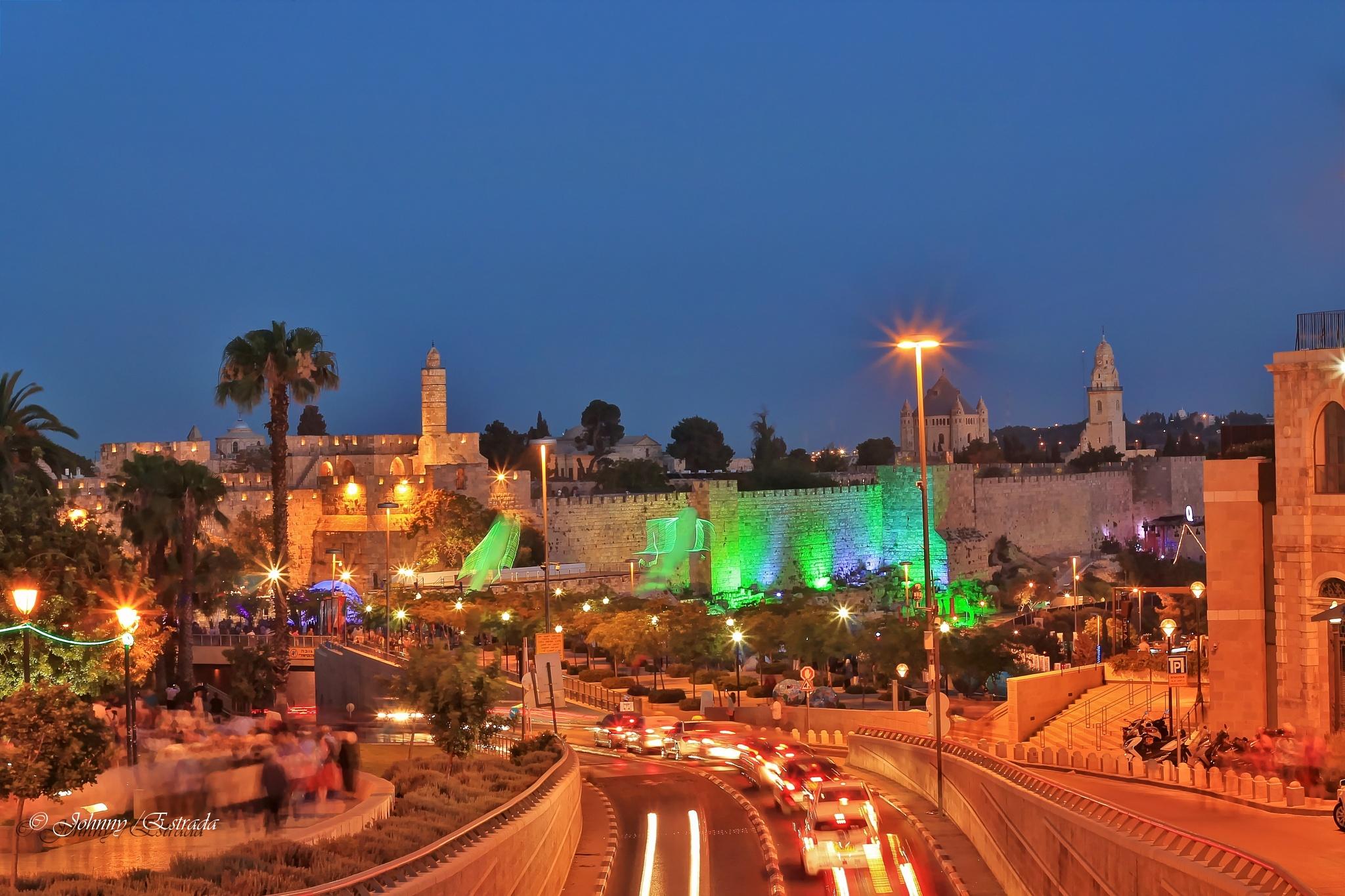 Old City Jerusalem by John  Estrada