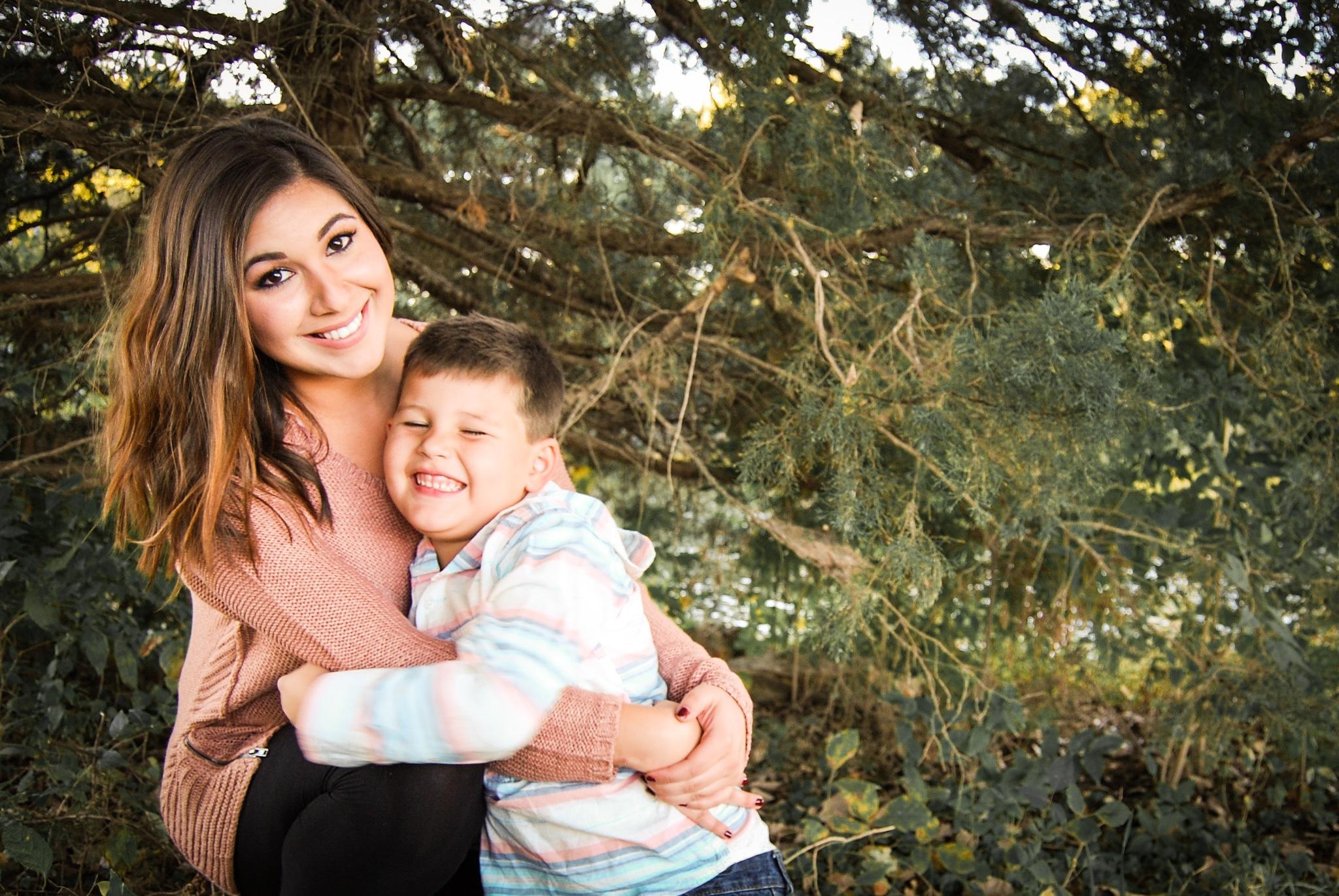 Mom and son by Amy Elizabeth
