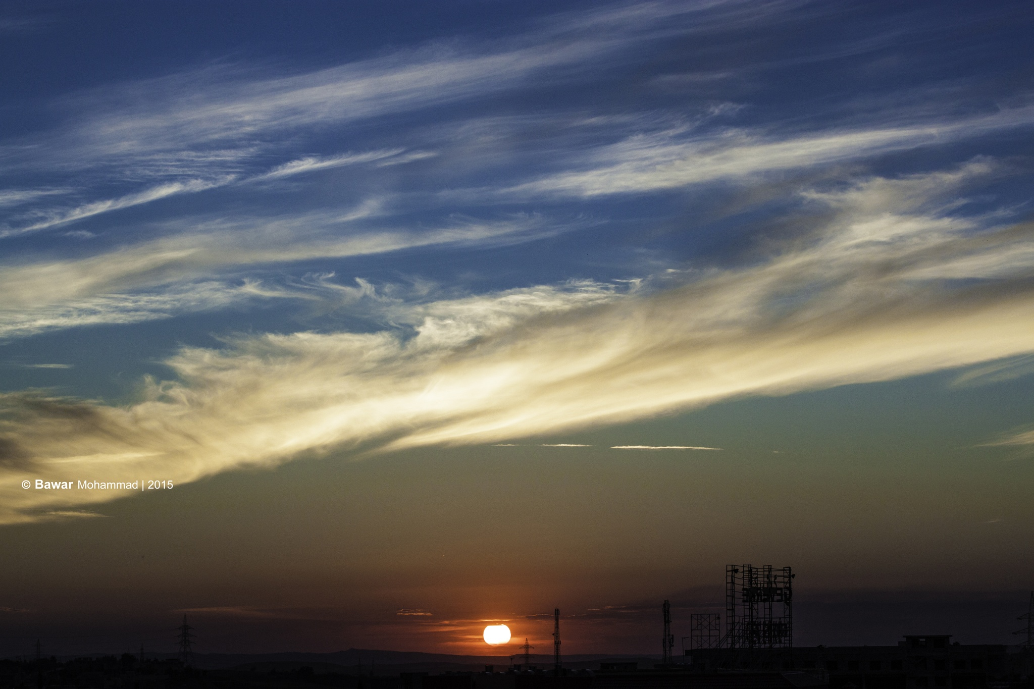 Sunset autumn by BawarMohammadSidiq