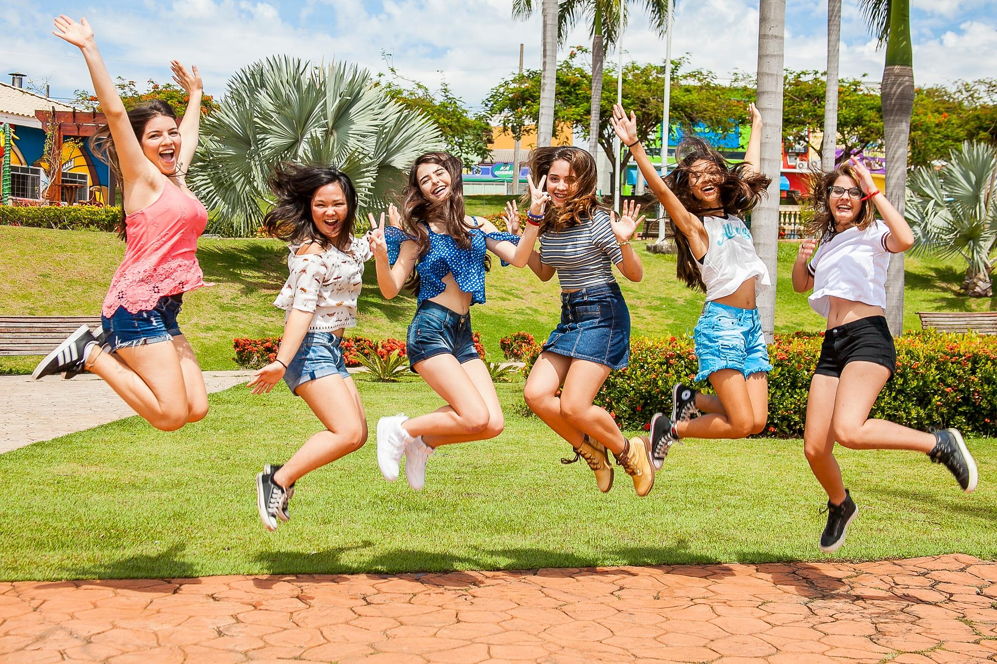 Happy girls by wanderson marchetti