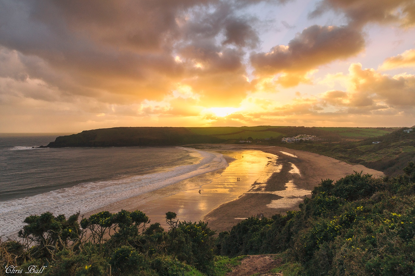 Freshwater East by Chris Ball