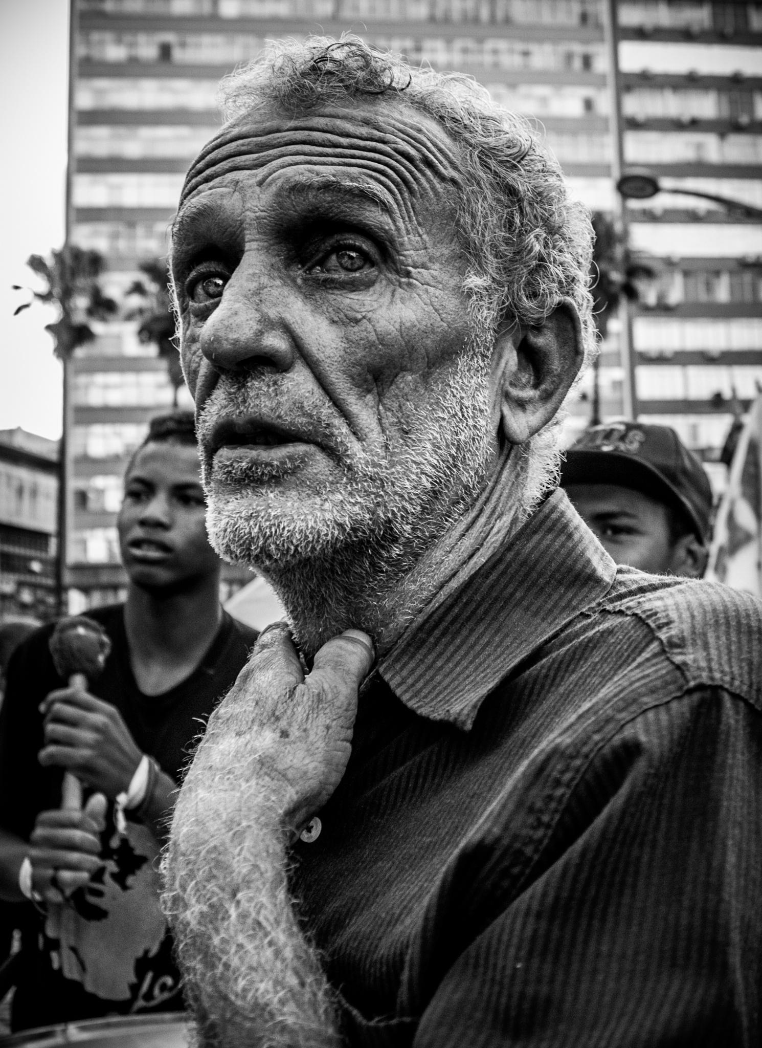 The oldman by Pedro Antonio Heinrich