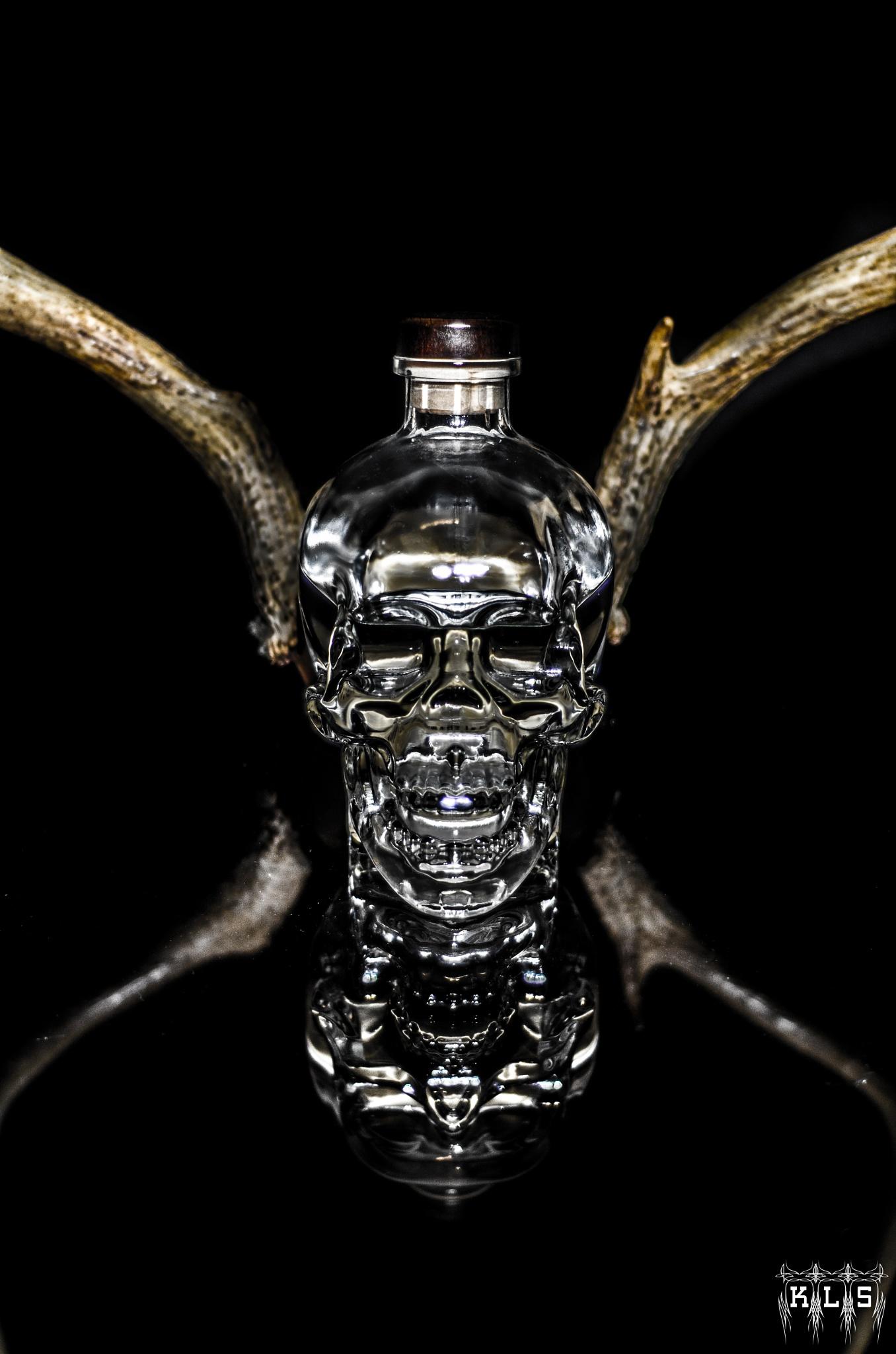 Exploring , Crystal Skull Vodka  by K-Liss
