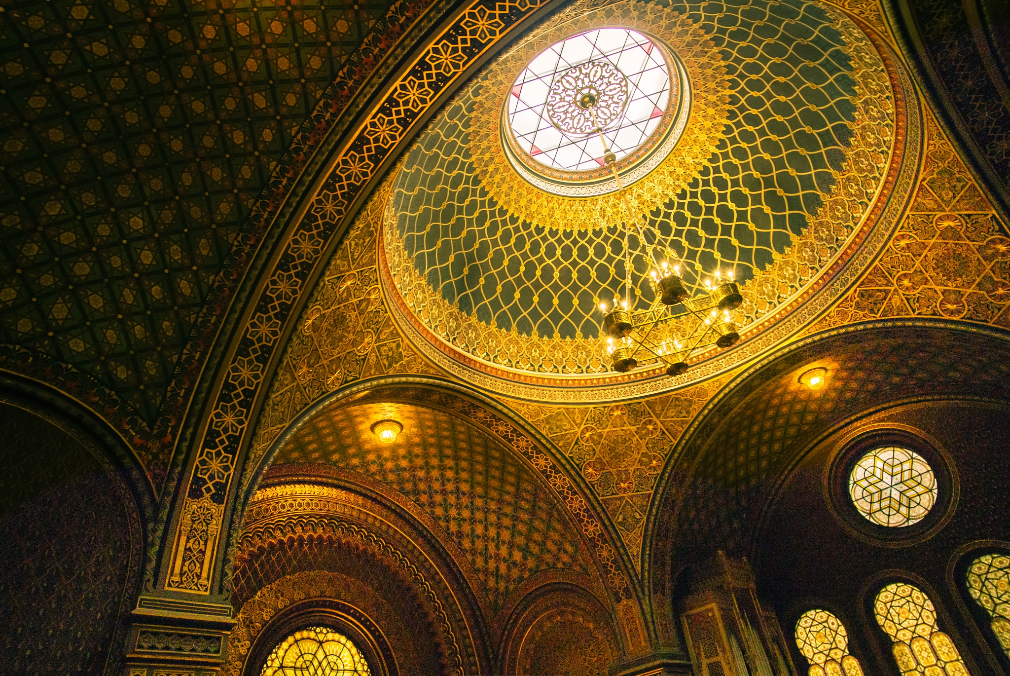 The Spanish Synagogue - Prague by benpicko