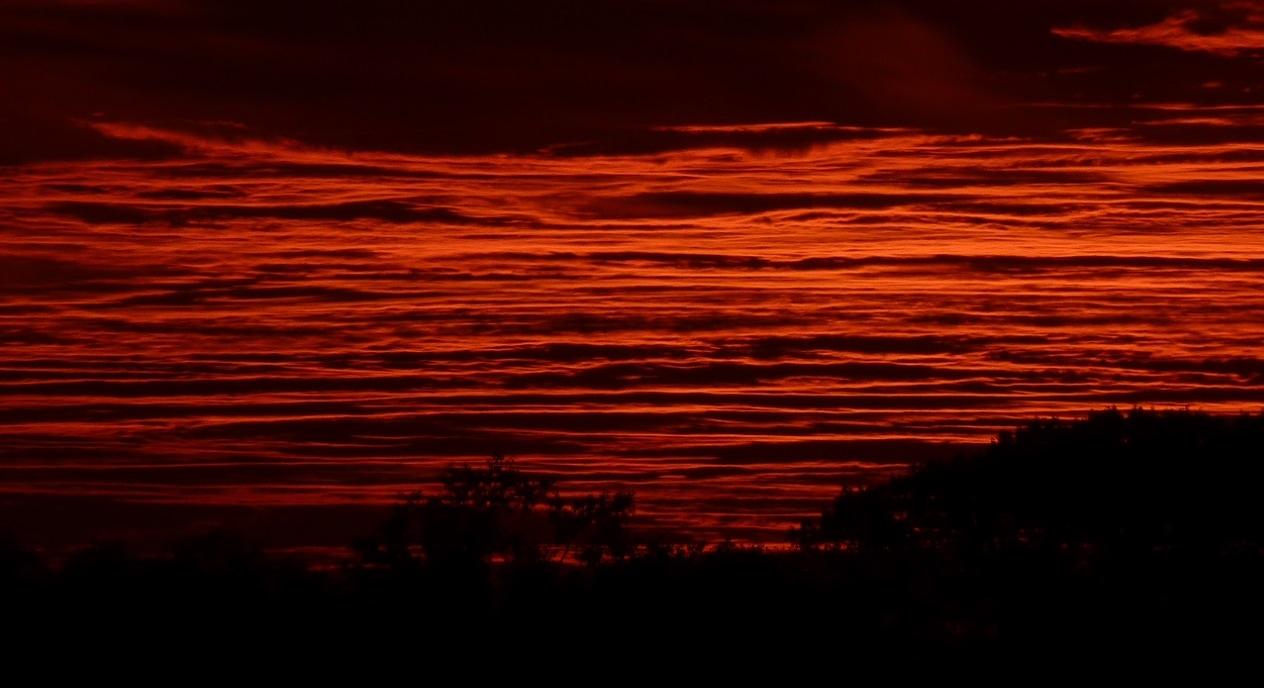 Sky On Fire by Dieter Kepler
