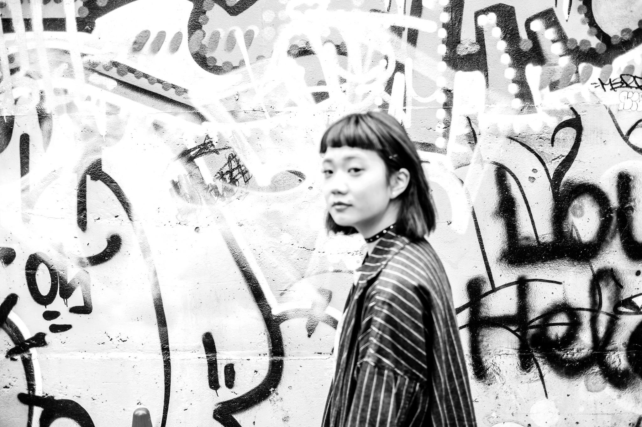 Wall Girl by Sai