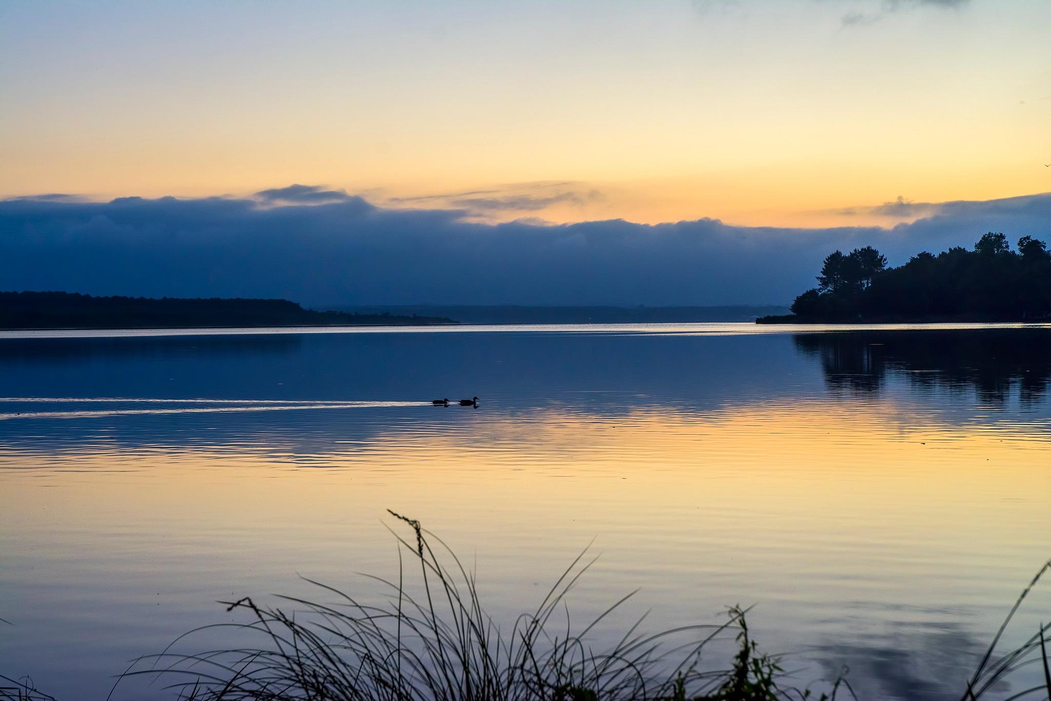 The lake at sunrise. by Antonio Macedo Photography.