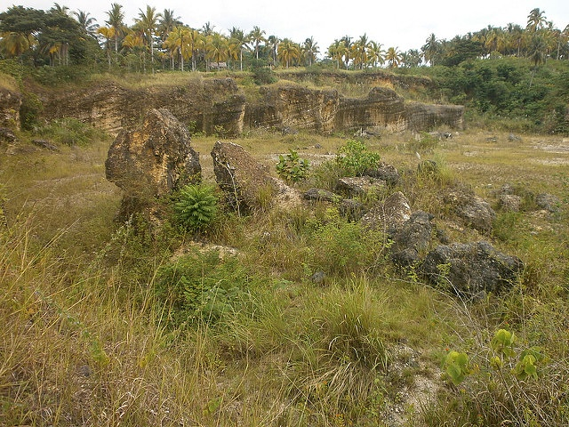 After a lot of years of quarrying by Alfuainun Dilangalen