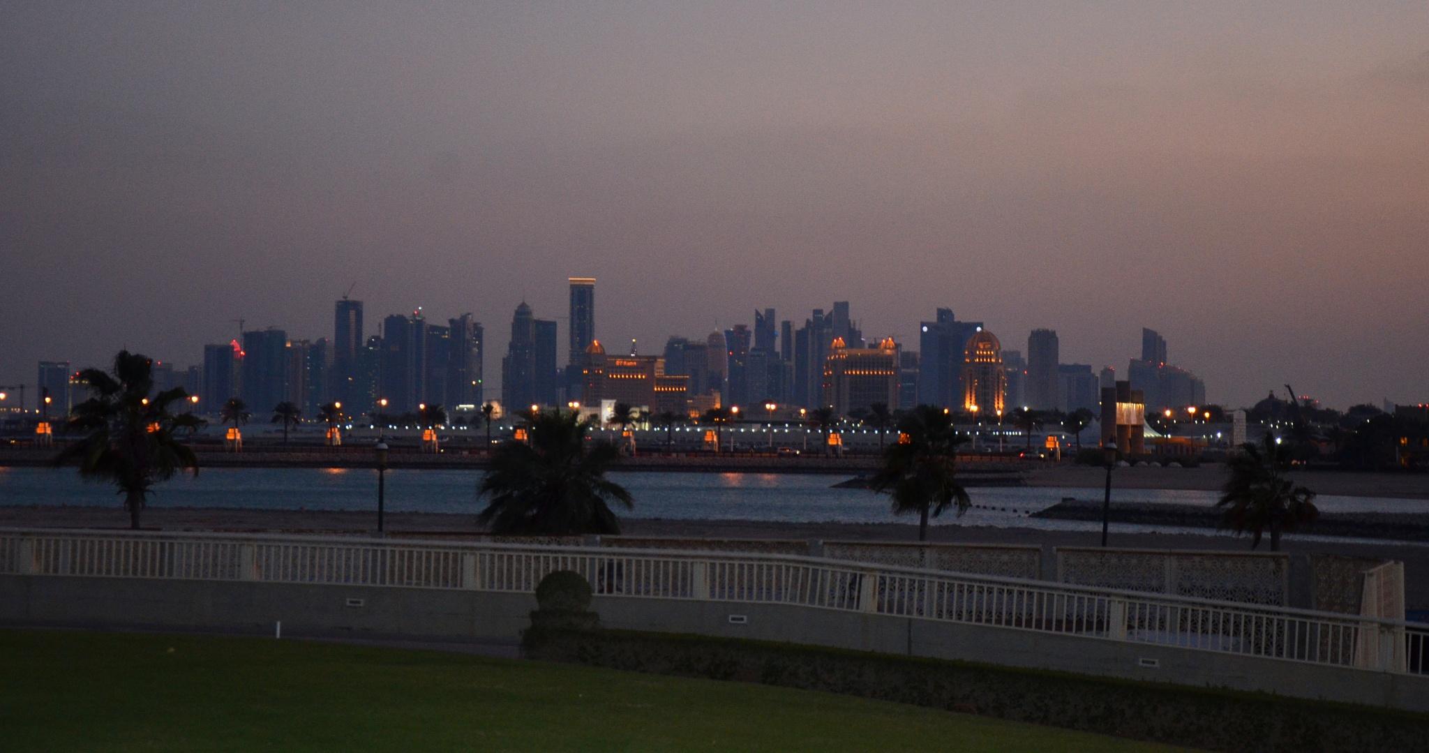 West Bay Lagoon, Doha Qatar by Ren Constantino