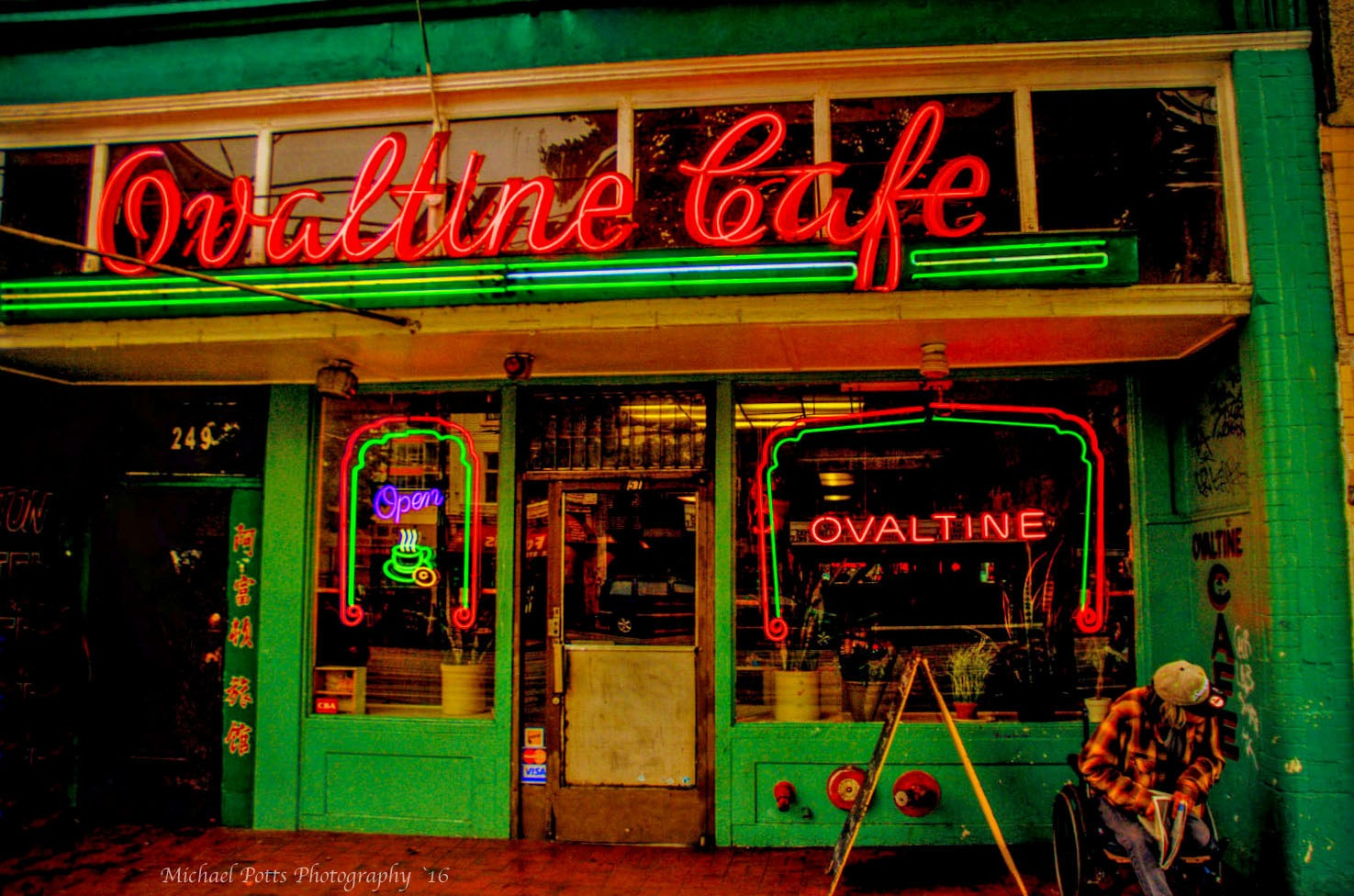 Ovaltine Cafe  by Mikespics