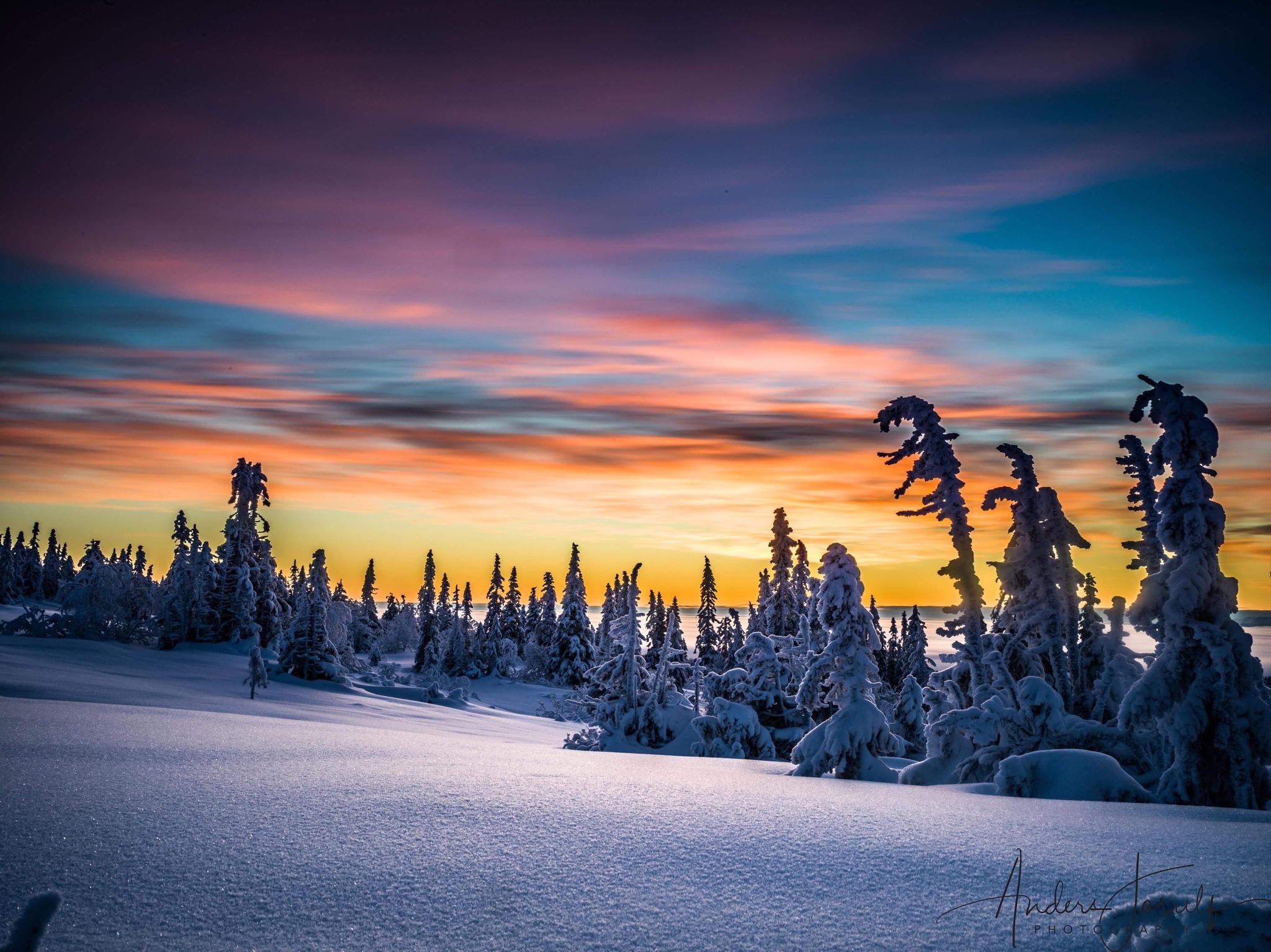 Winter in Sweden by Anders Jorulf