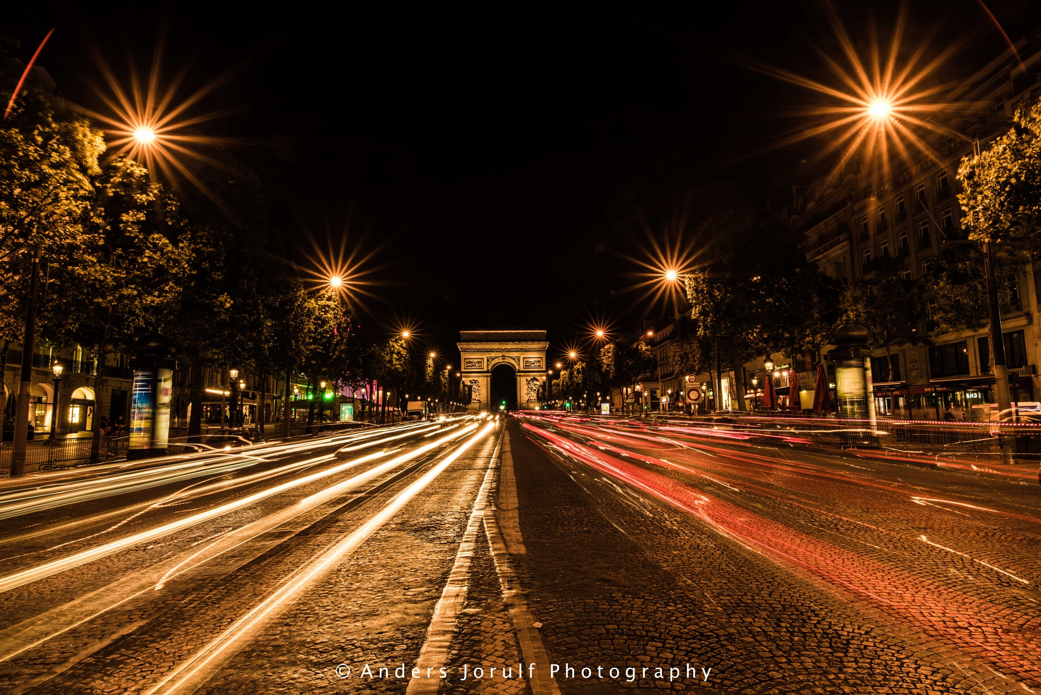 The road to Paris by Anders Jorulf