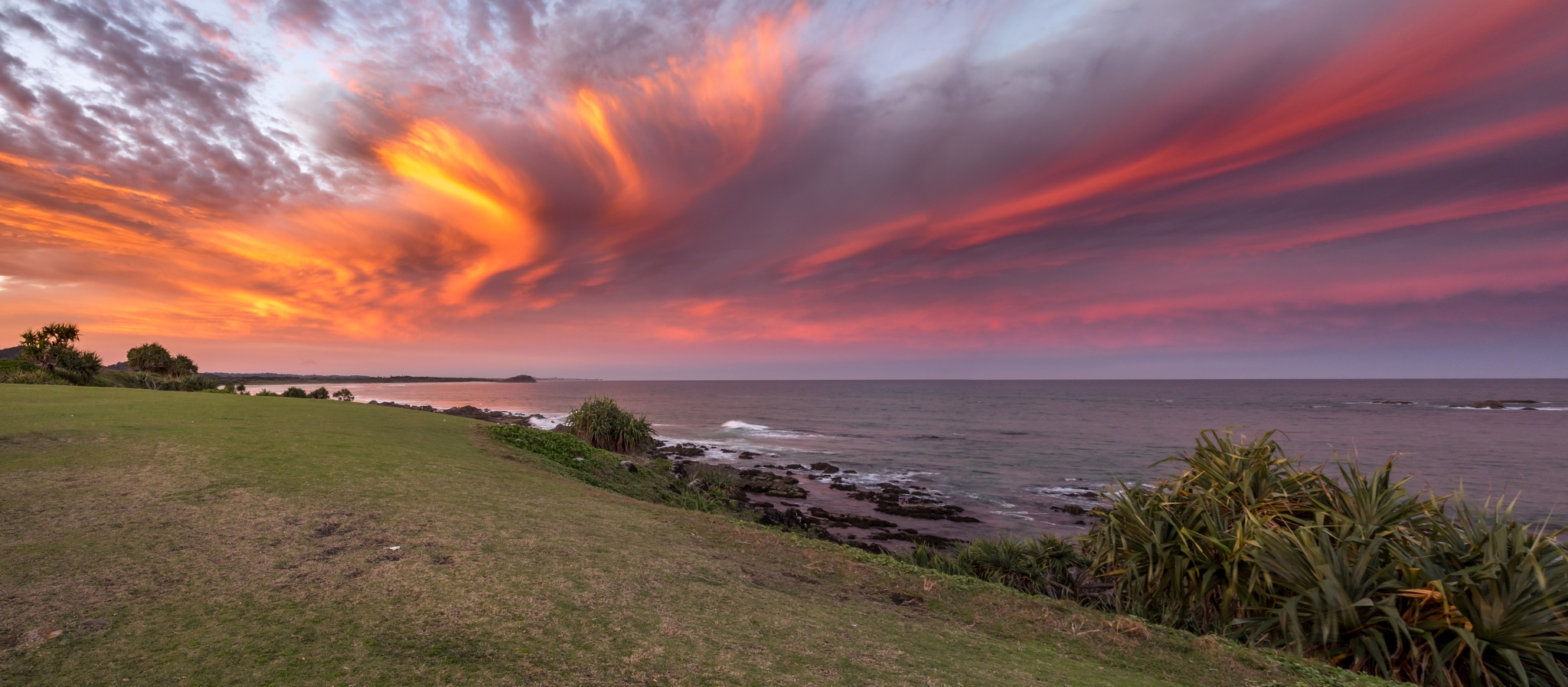 Sunset at Cabarita by Mark Murray
