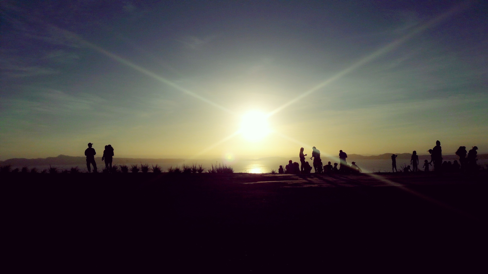 sunset from tanay rizal by Ashley Pedro