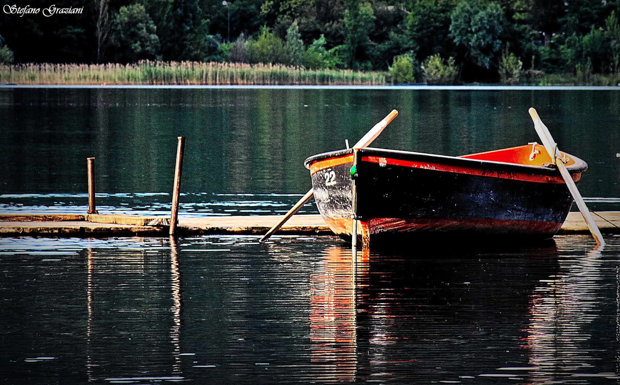 Un giro in barca by Stefano Graziani