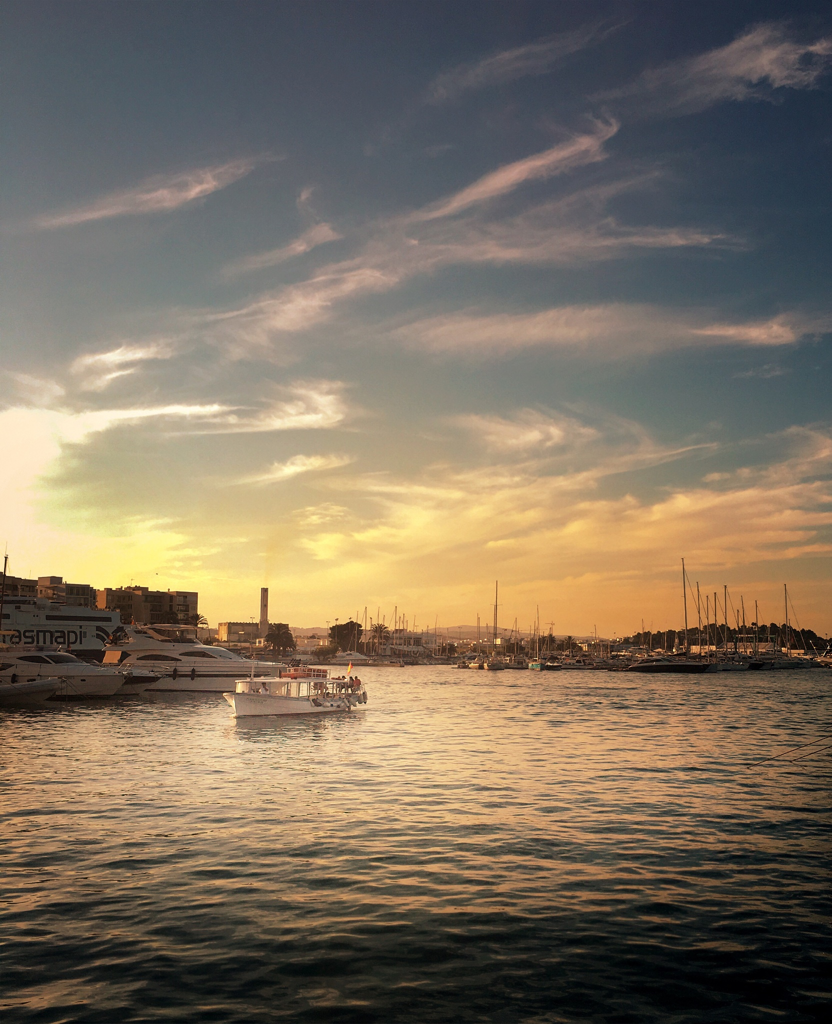 Ibiza Sunset  by IvanVucetic