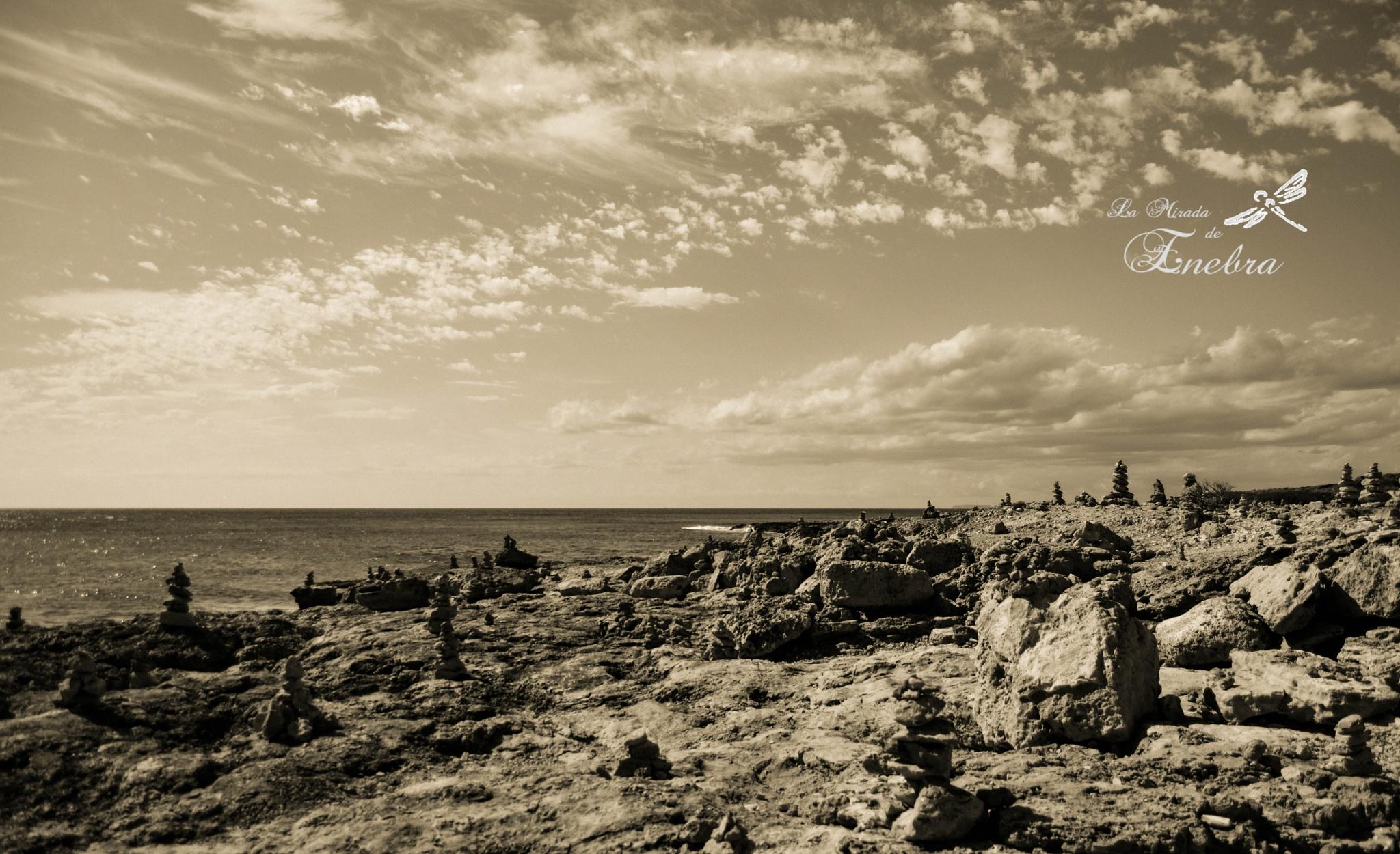 Photo in Landscape #rocks #sea #sky
