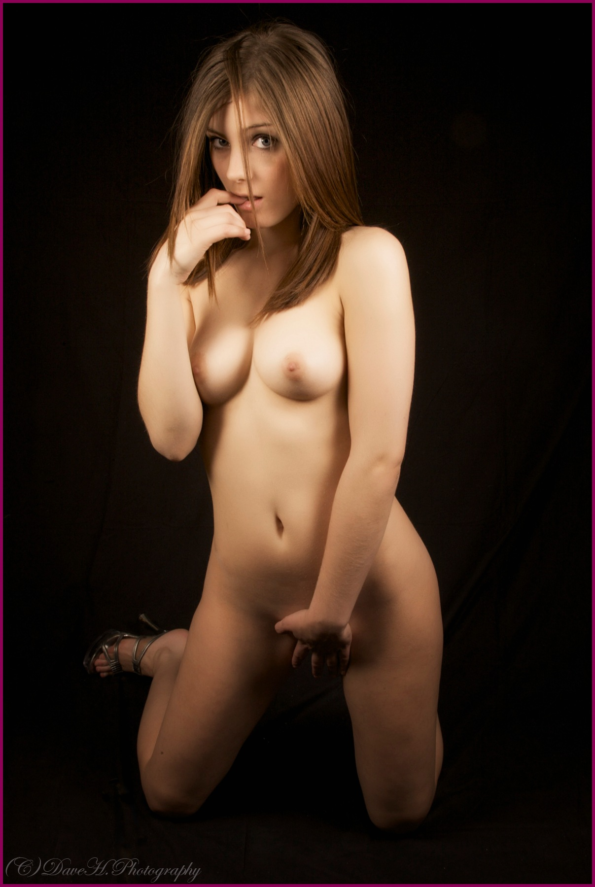 Art Nude Moment by David Haines