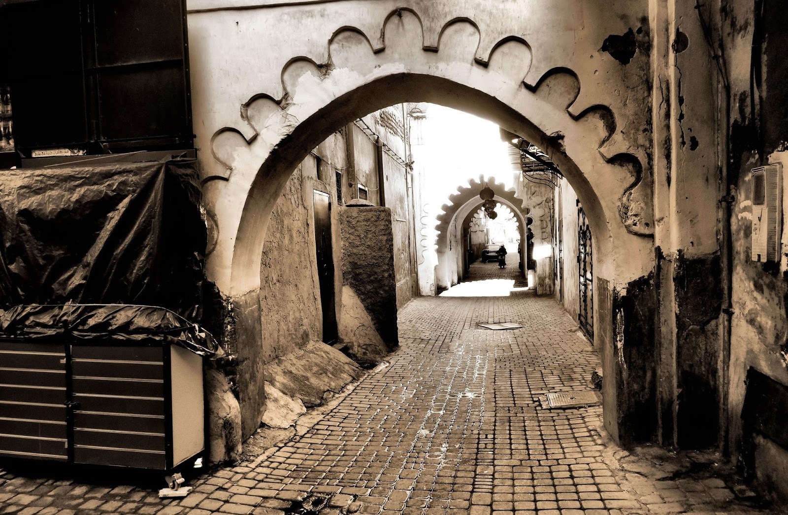 Inspiration #349 - Little street in Morocco by lonysd