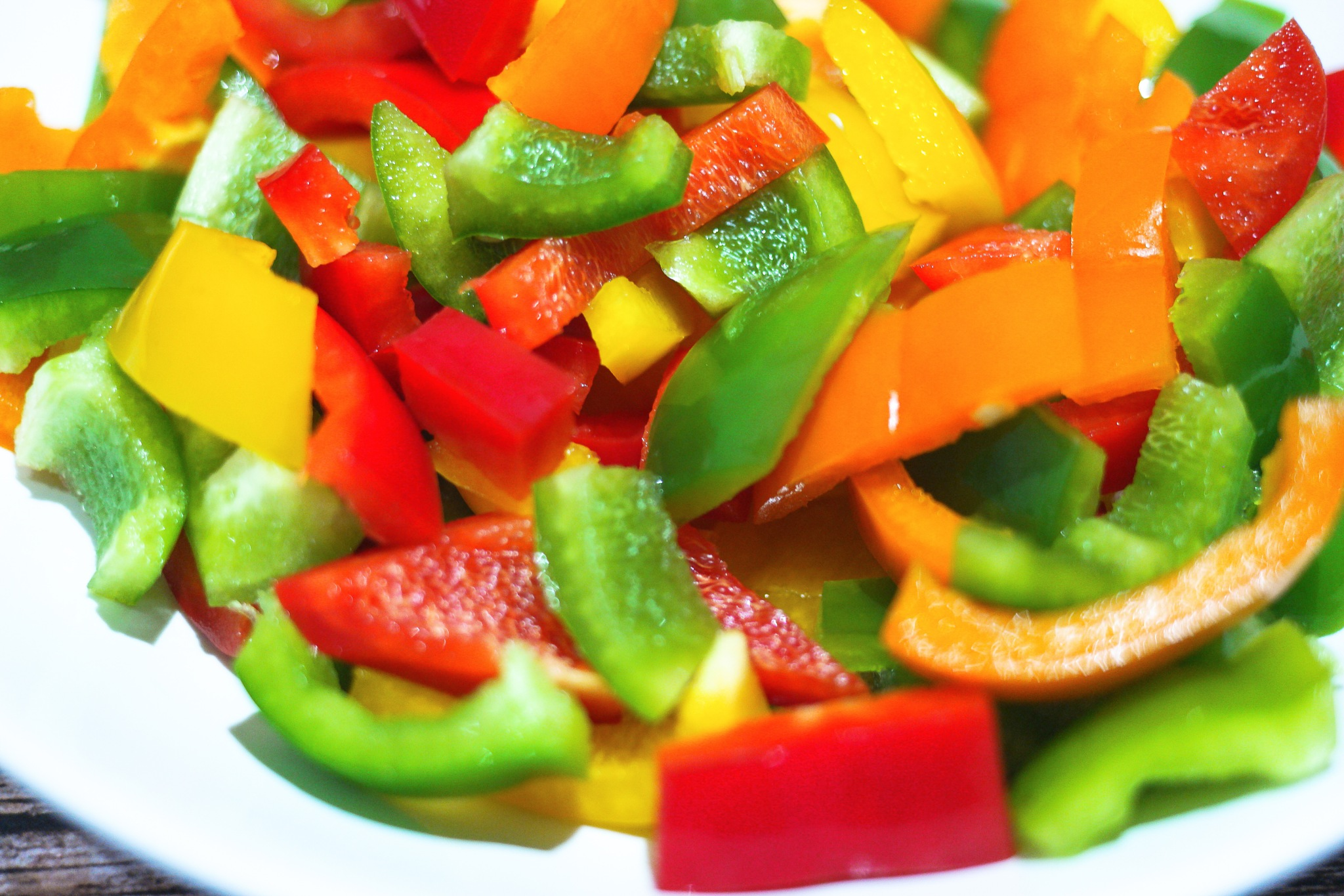 Bellpeppers for salad by neilstha firman