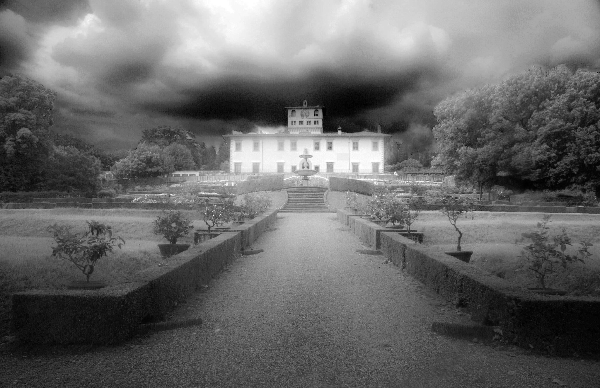 Medici Villa la Petraia by Gianni Meini