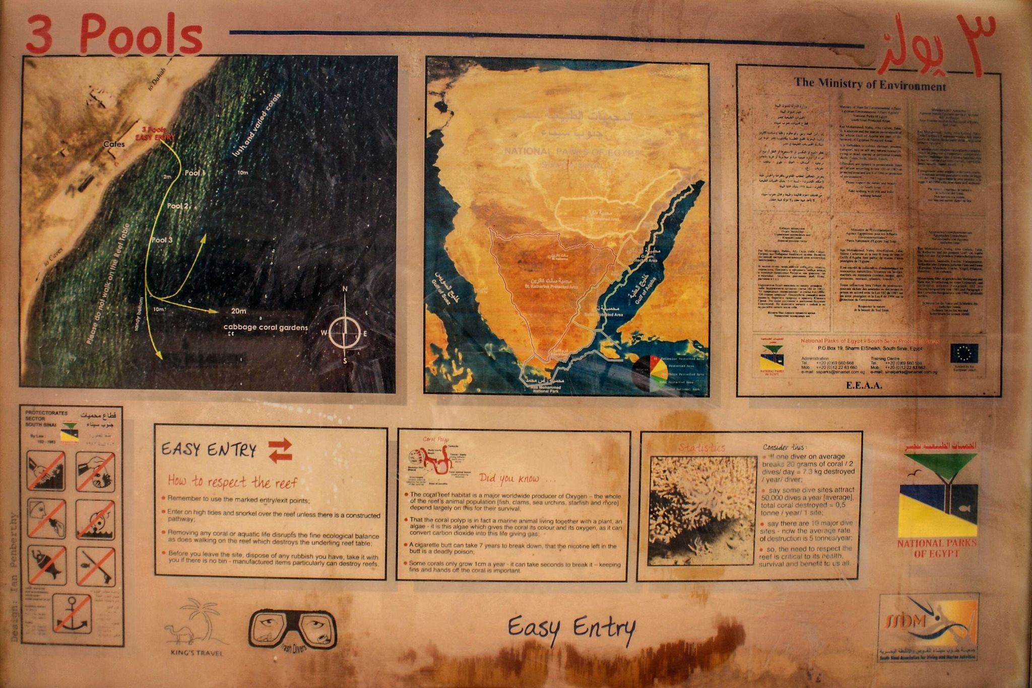 Egypt, tourist village Taba by Gianni Meini