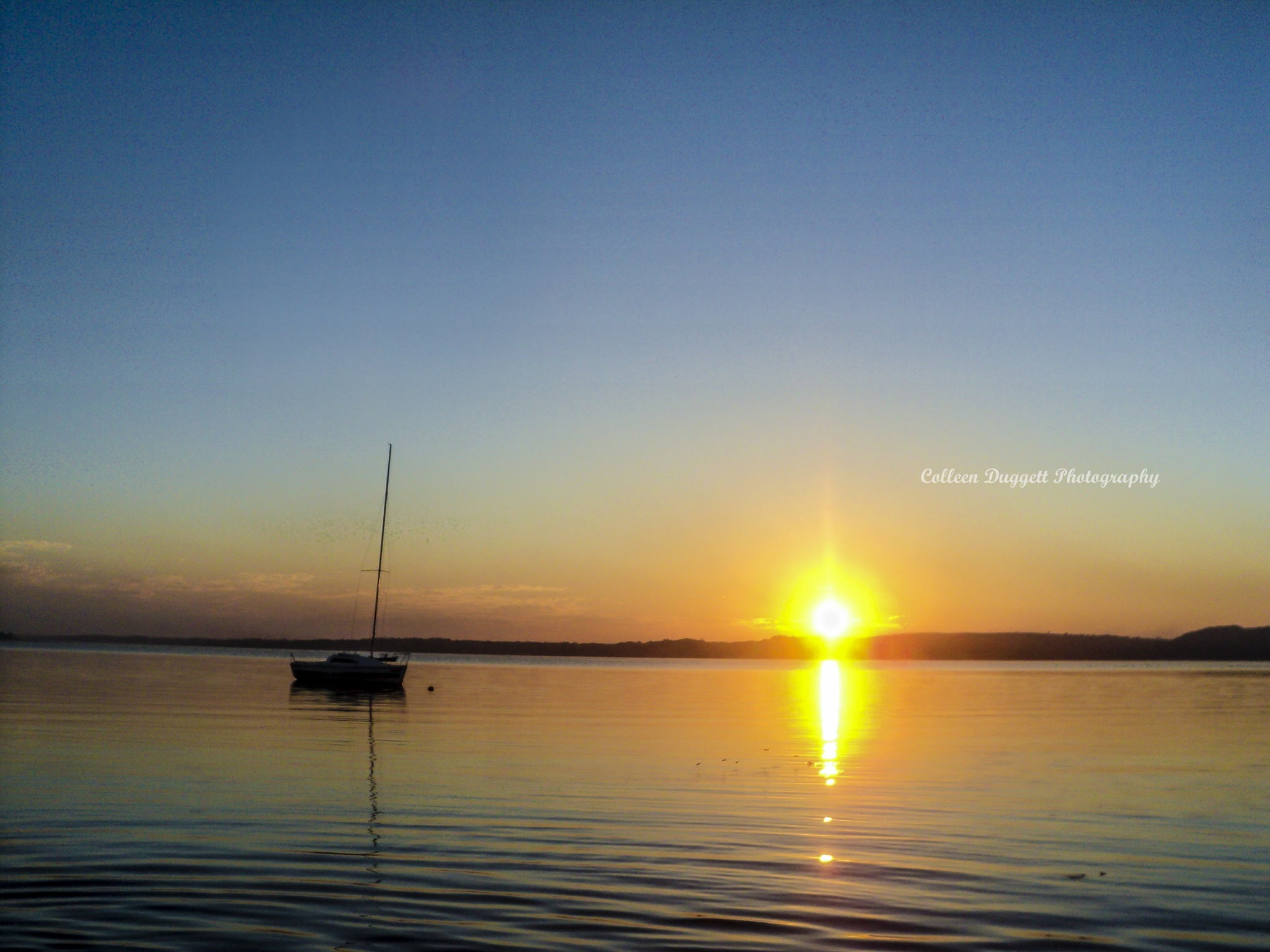 Photo in Landscape #http://www.colleenduggettphoto #https://www.facebook.com/colle #https://www.instagram.com/coll #https://www.pinterest.com/coll #sunset #jumpingfish #mozambique #sundowner #calmness