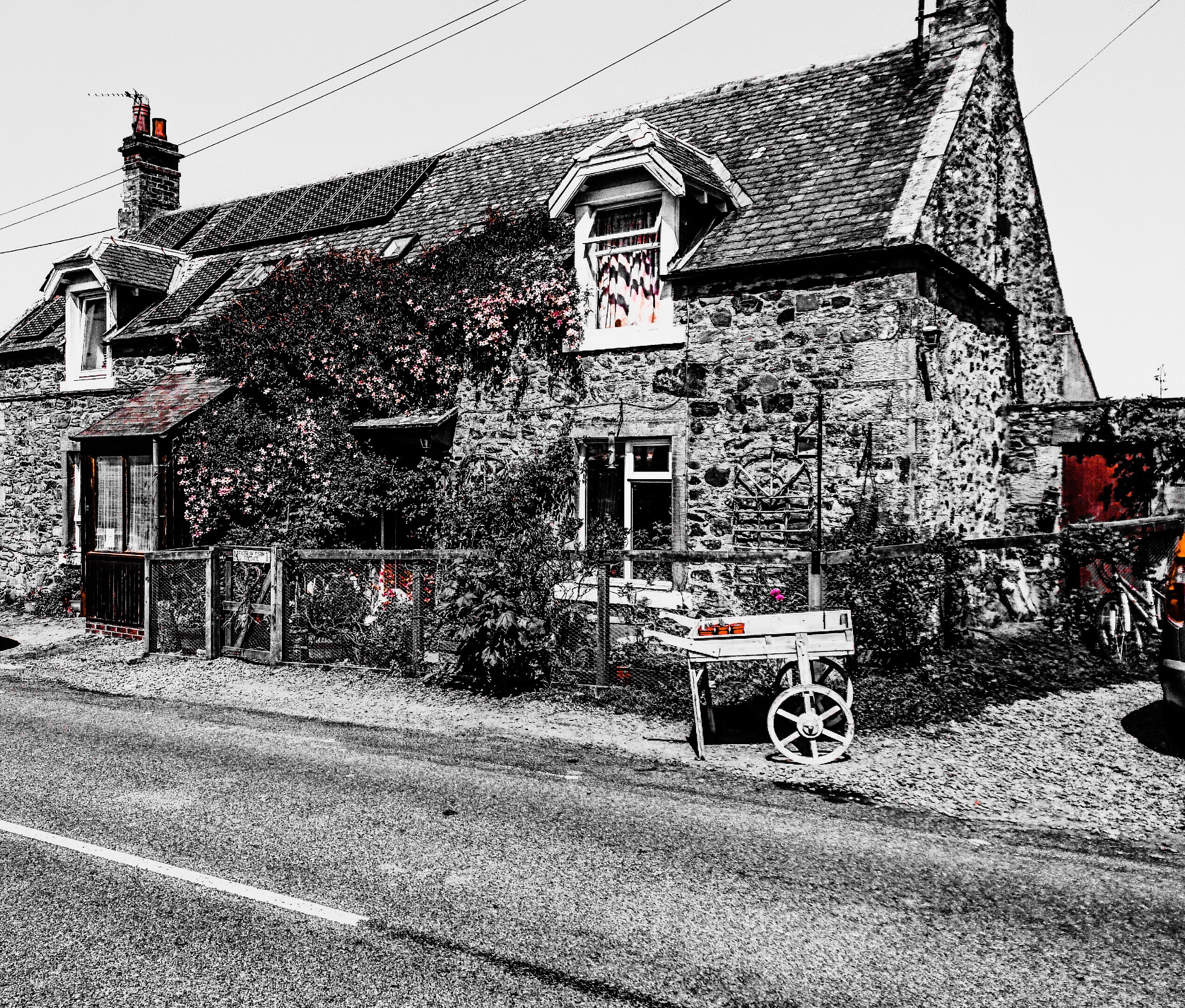 Fairlaw cottages (Scottish Borders)  by Stevie
