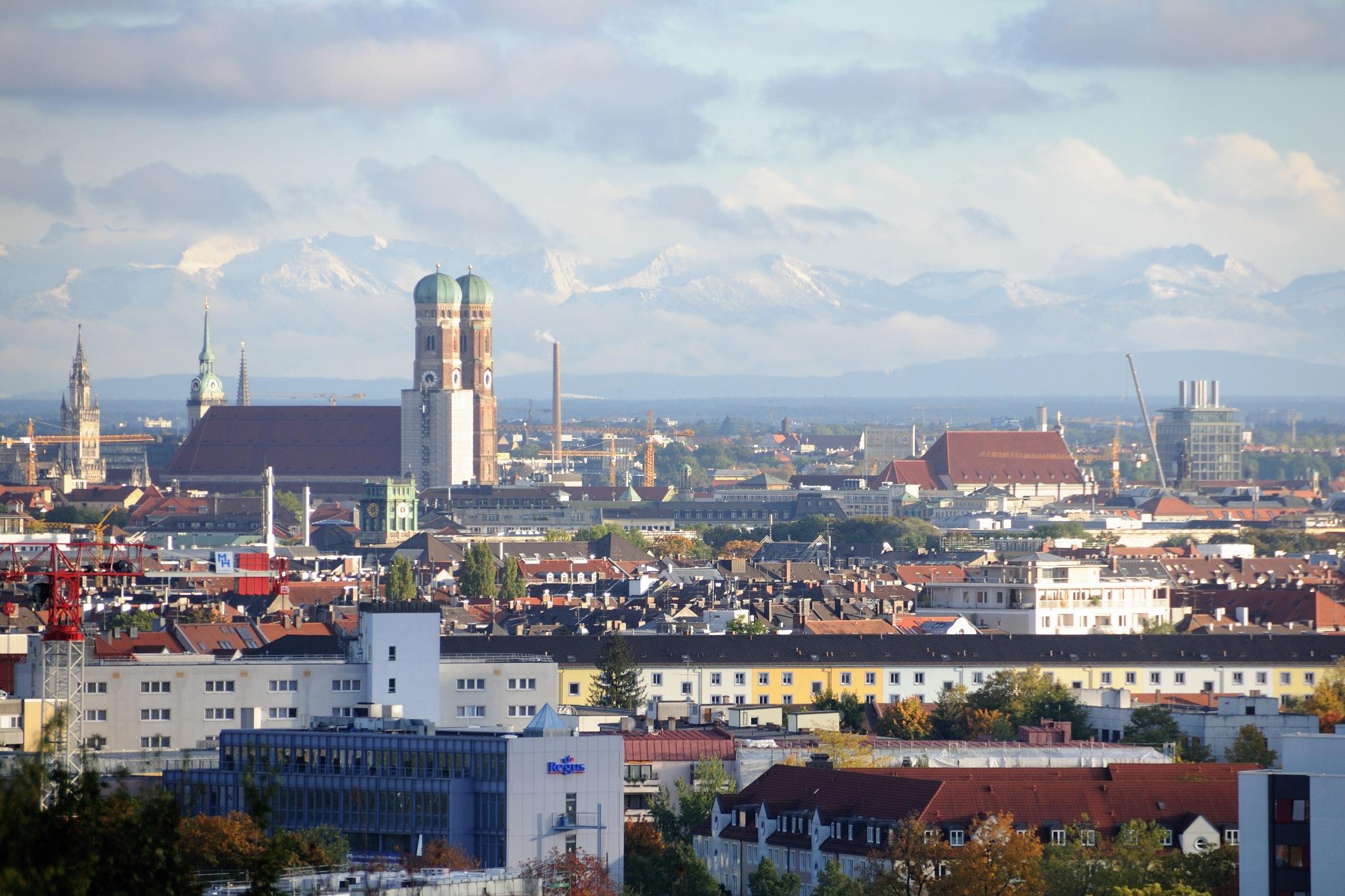 City of Munich by Zdenek Krchak