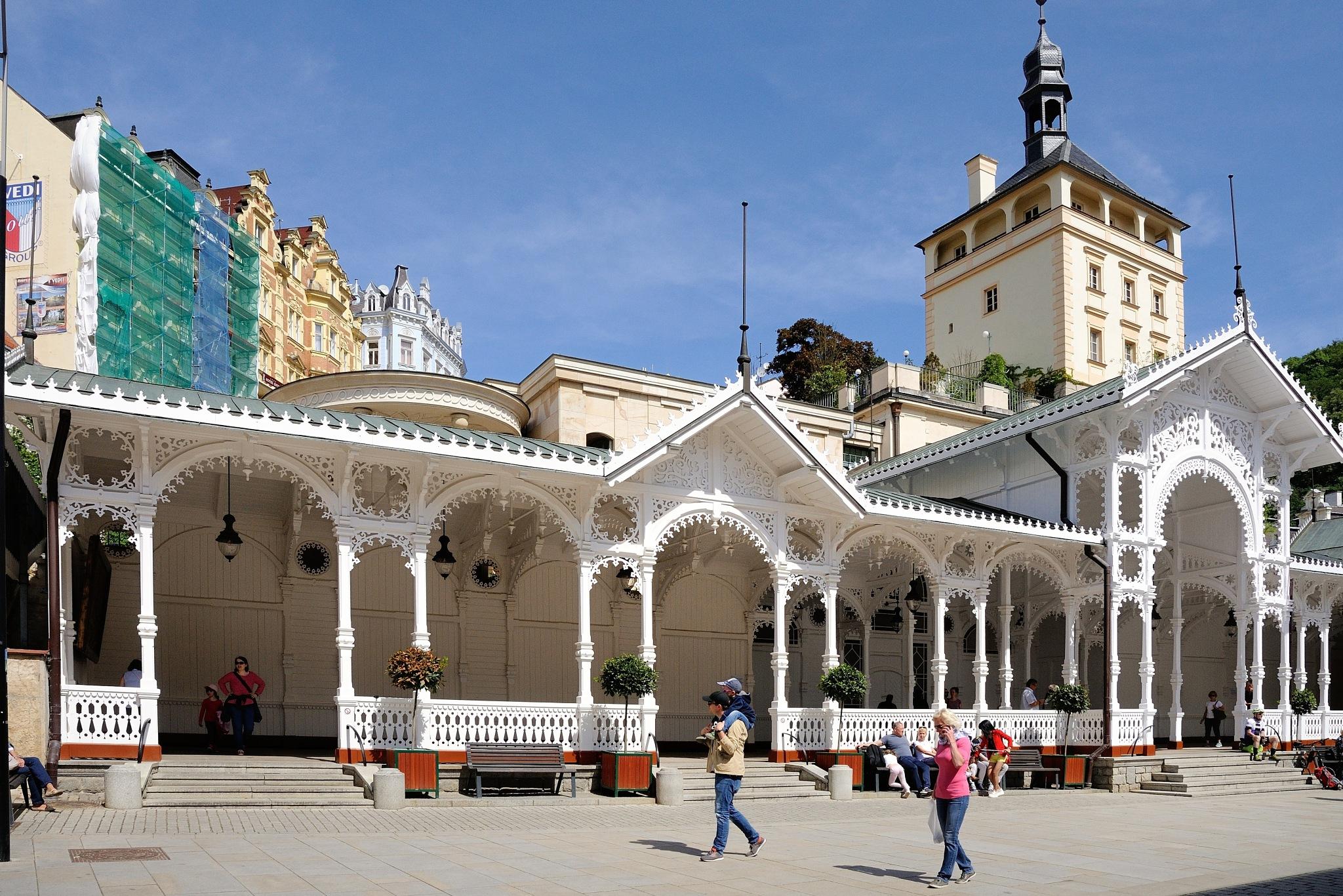 Karlovy Vary II by Zdenek Krchak