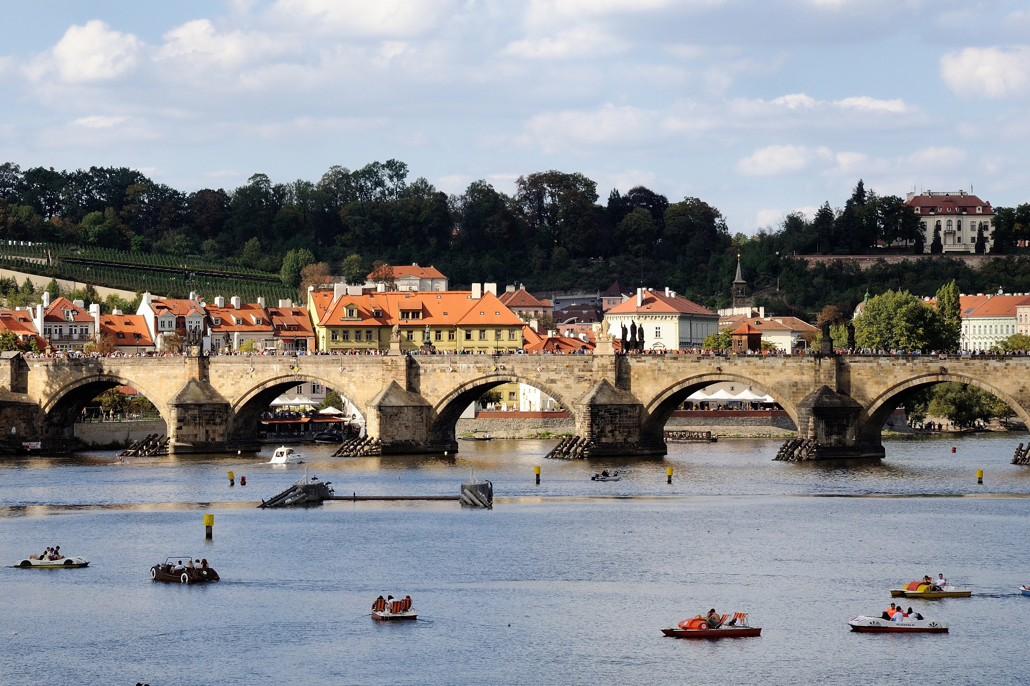 Charles Bridge, Prague by Zdenek Krchak