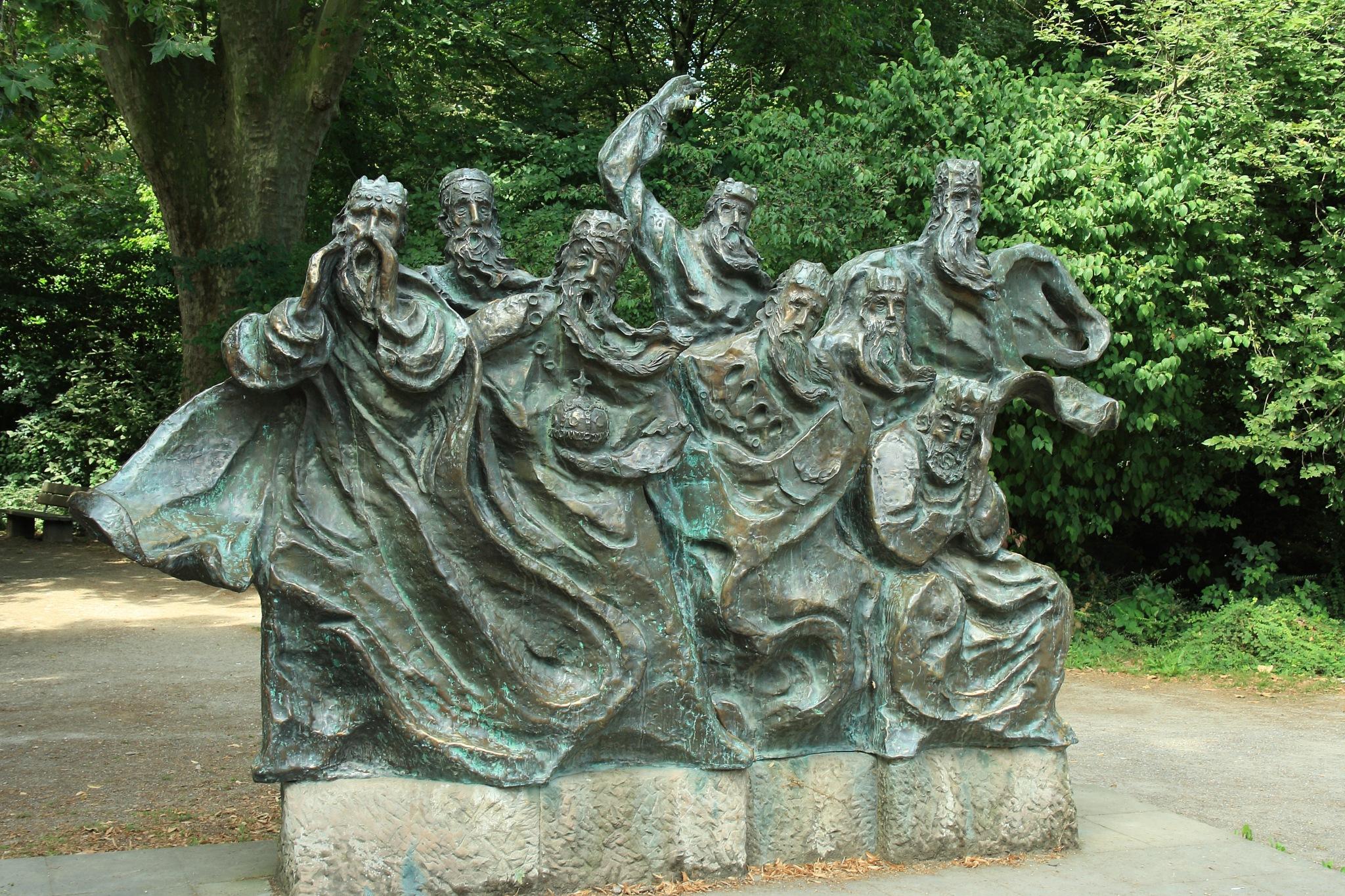Die rufenden Kaiser by Sigi Jedamski