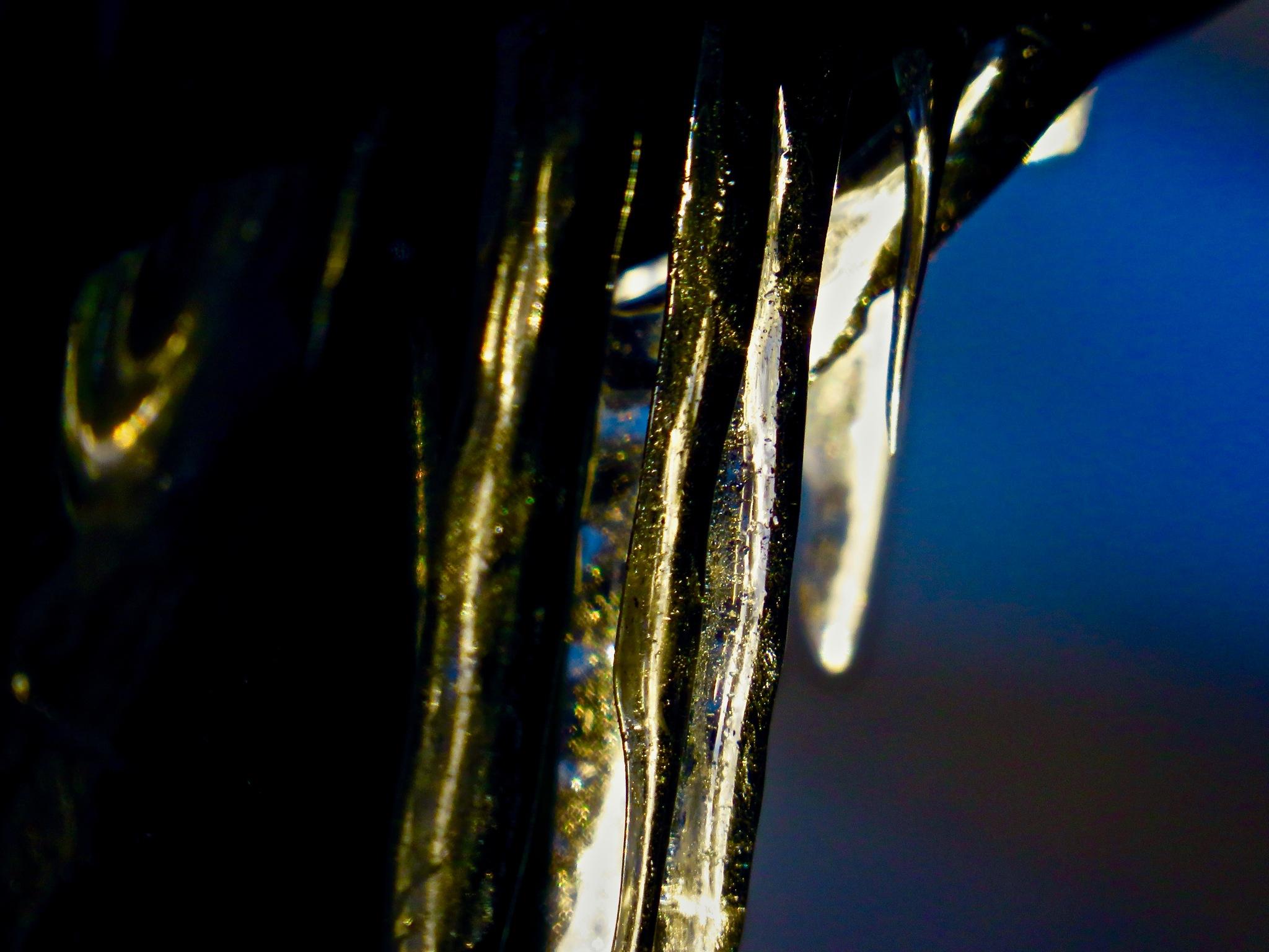 ice can sometimes be kinda nice !! by David Devion