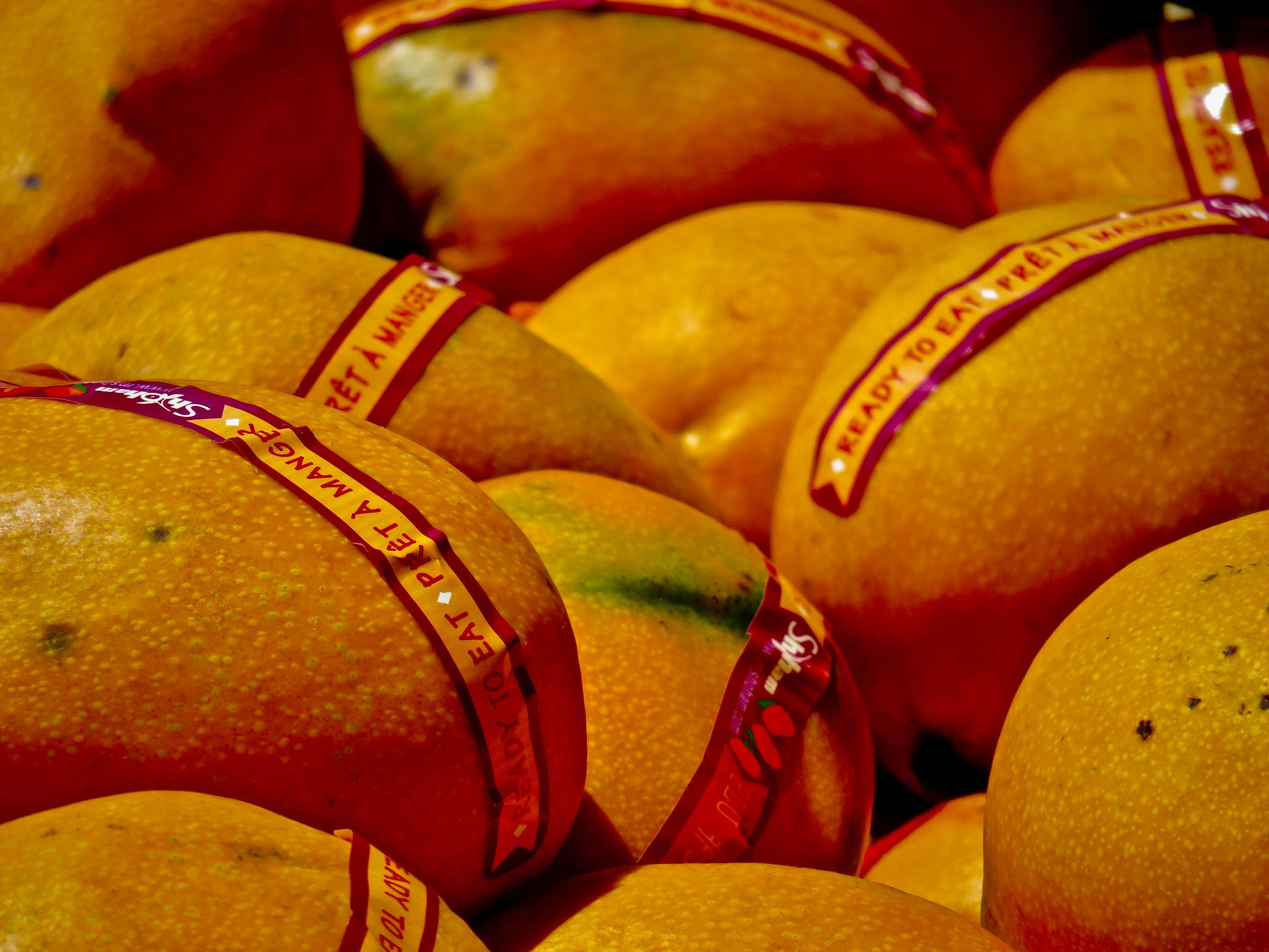 ripe mangos ...... a bite of perfection for those who like !!! by David Devion