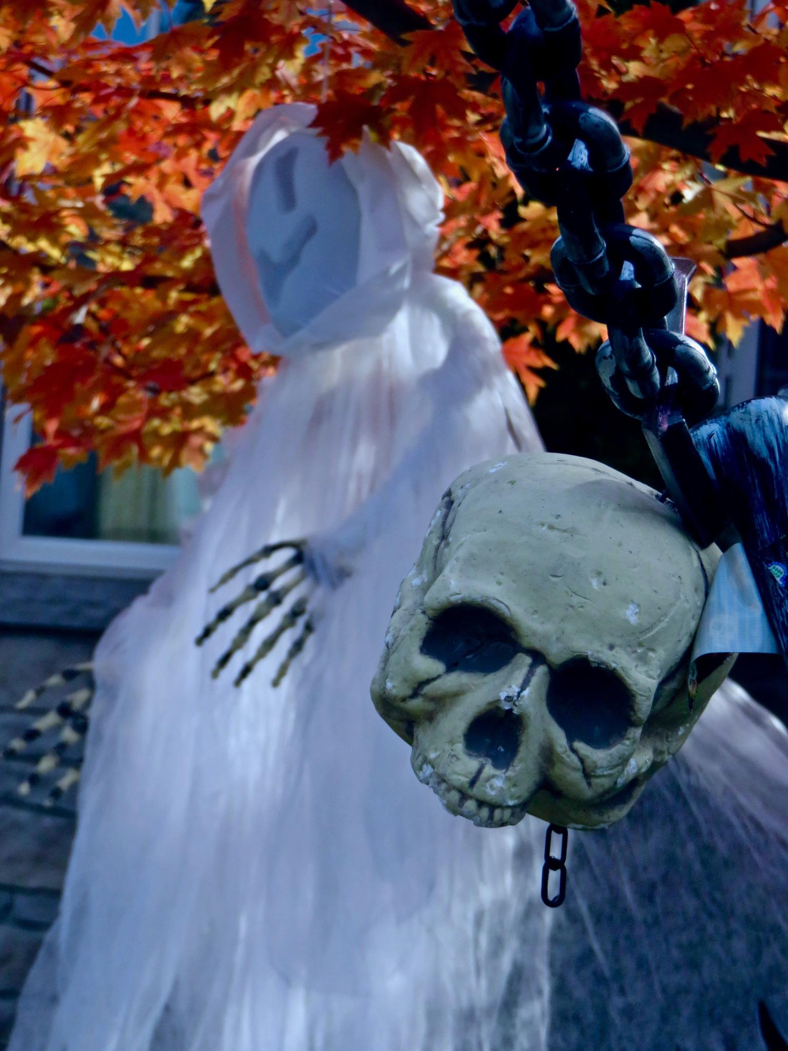 as the spooky dudes enjoy a human joke or two ..... by David Devion