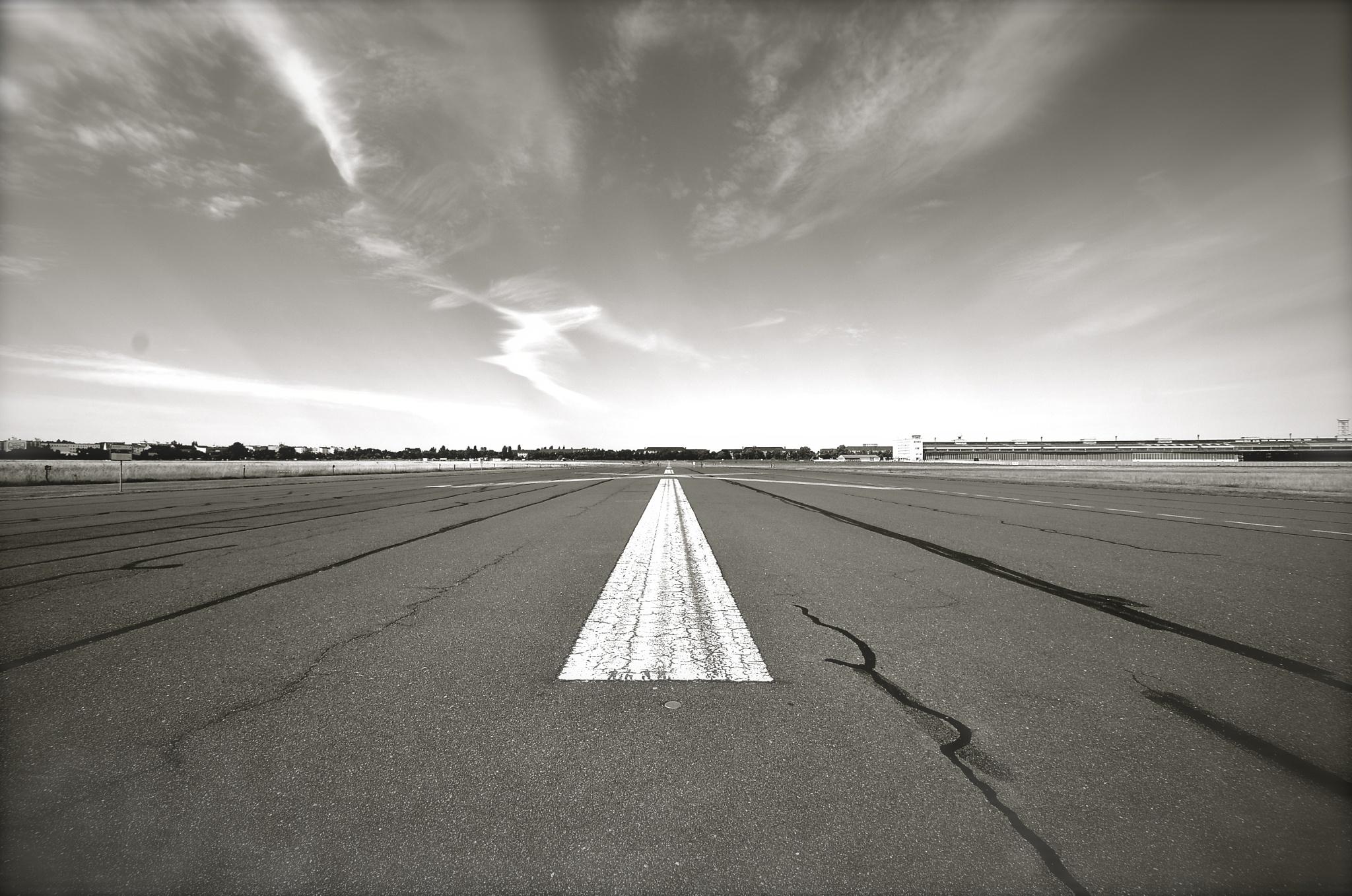 Tempelhof Airport, Berlin. by ArndCremer