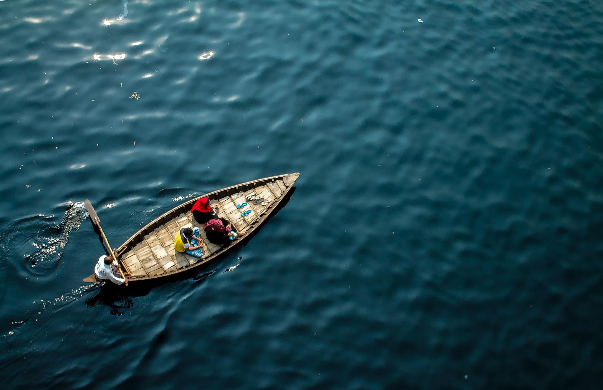 Voyage in blue by Ehsanul Siddiq Aranya