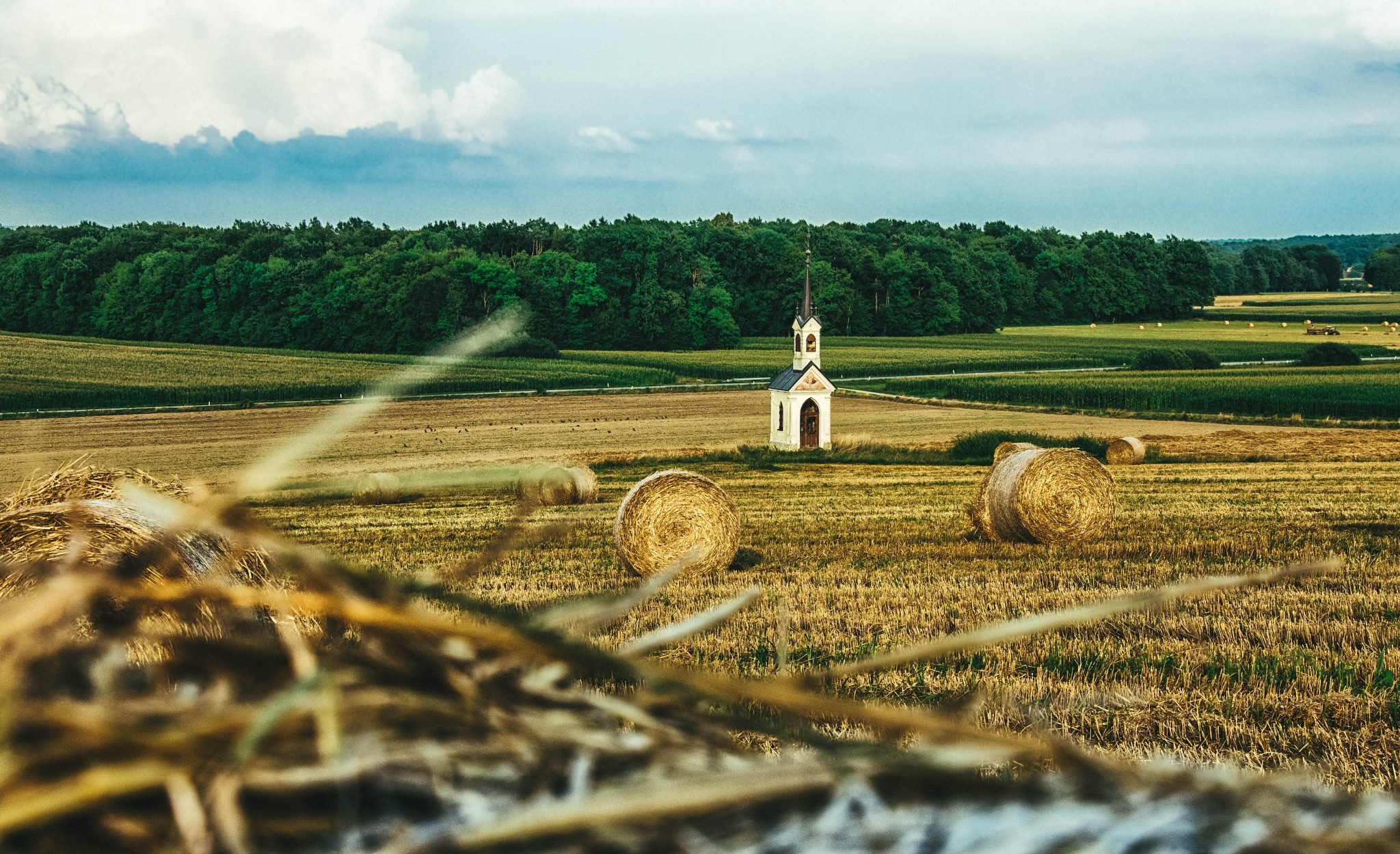 Country side  by Ksenija Vrbnjak