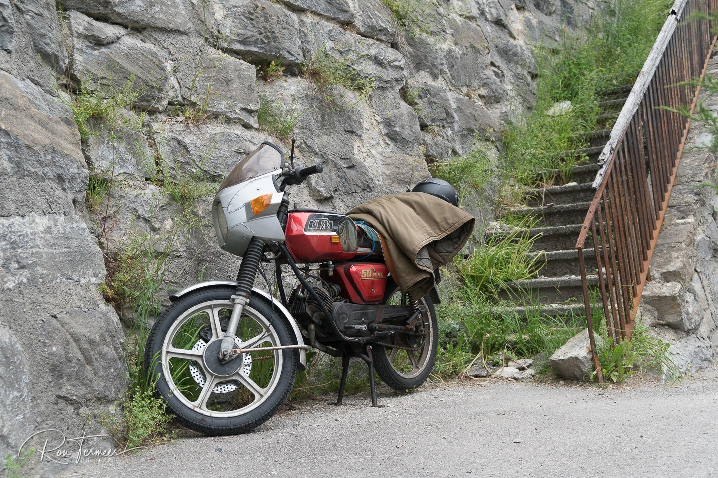 KTM moped by Ron Termeer
