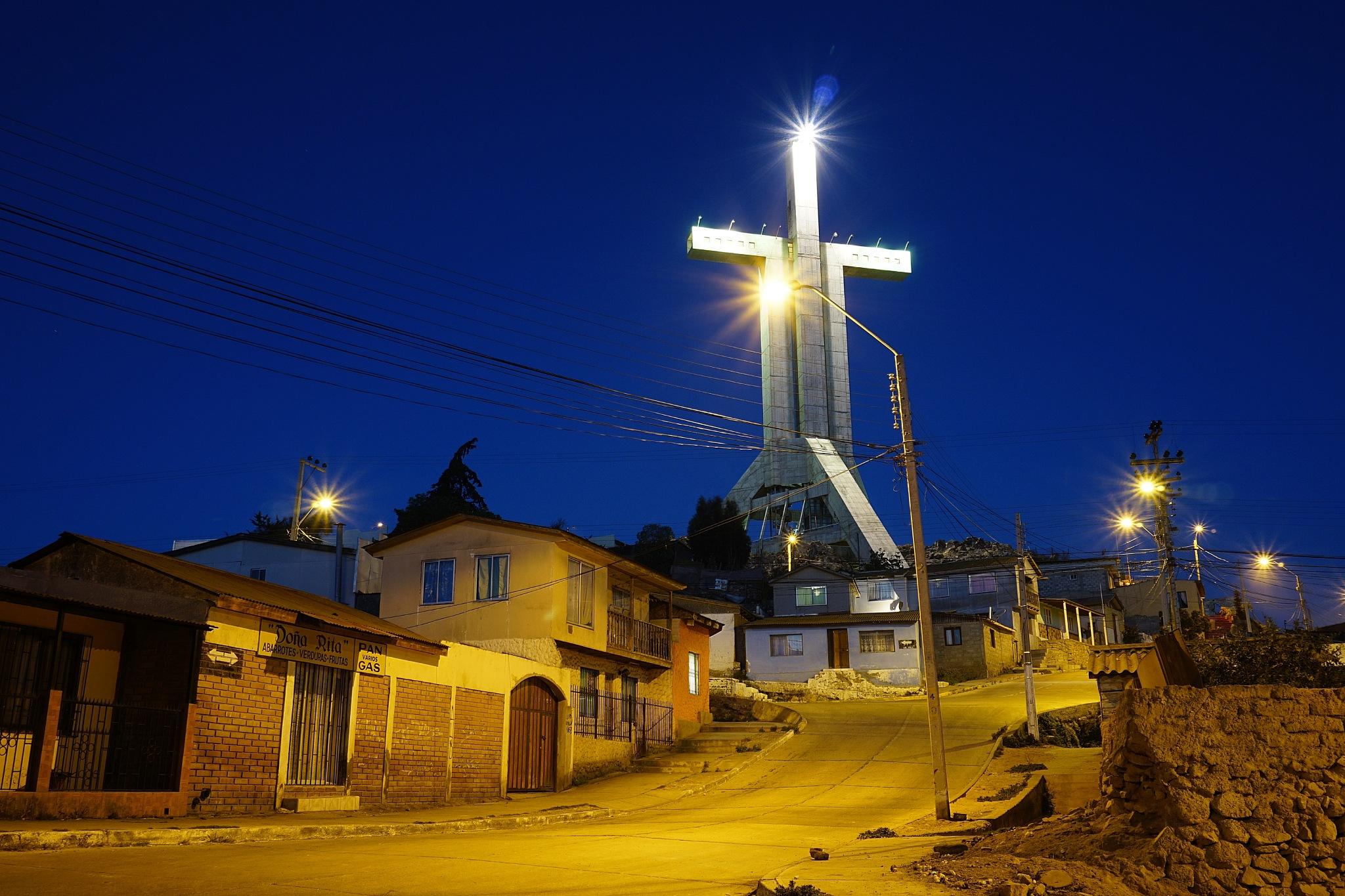 Cruz del Tercer Milenium by Marcelo Lorca