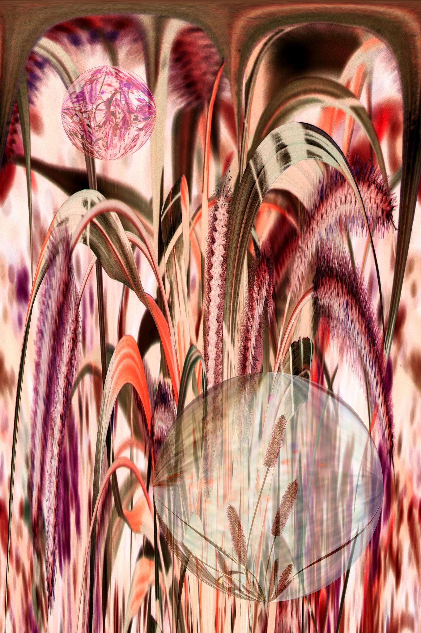grass orbs by tocktick