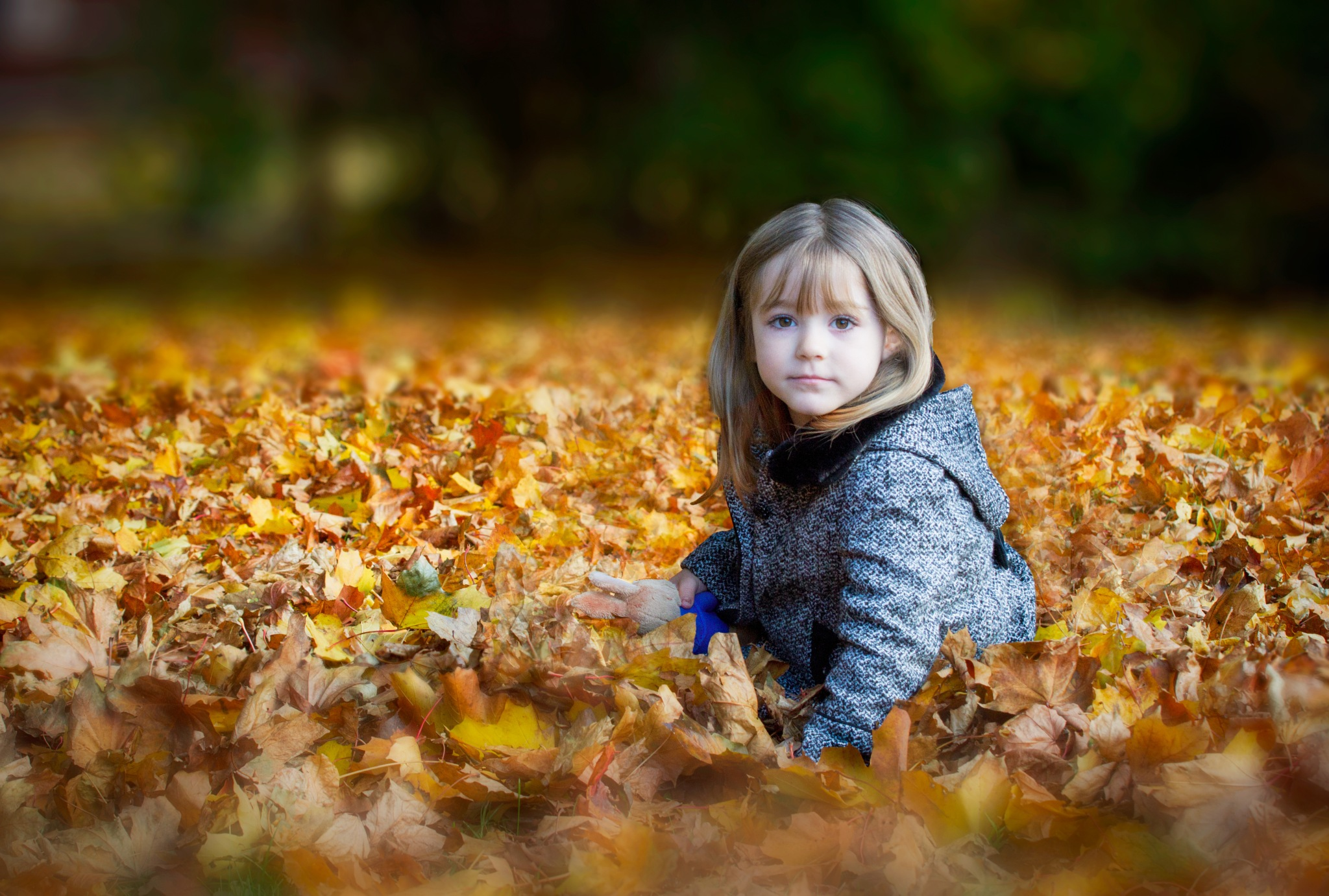 angel in the leaves by jay good