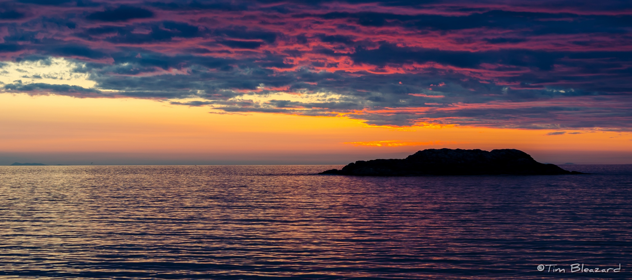 Isle of Coll Sunset by tbleazard