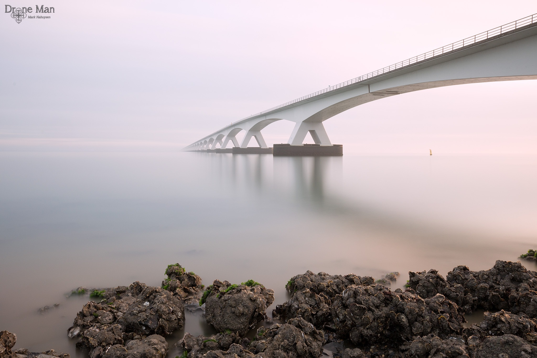 Endless bridge... by Mark Nahuysen
