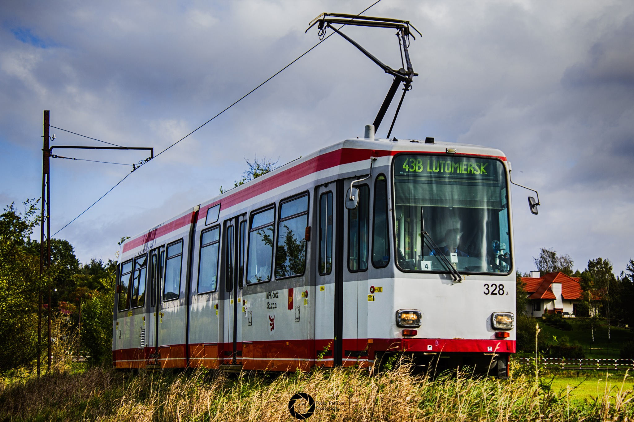43B     LUTOMIERSK by Public Transport Photography
