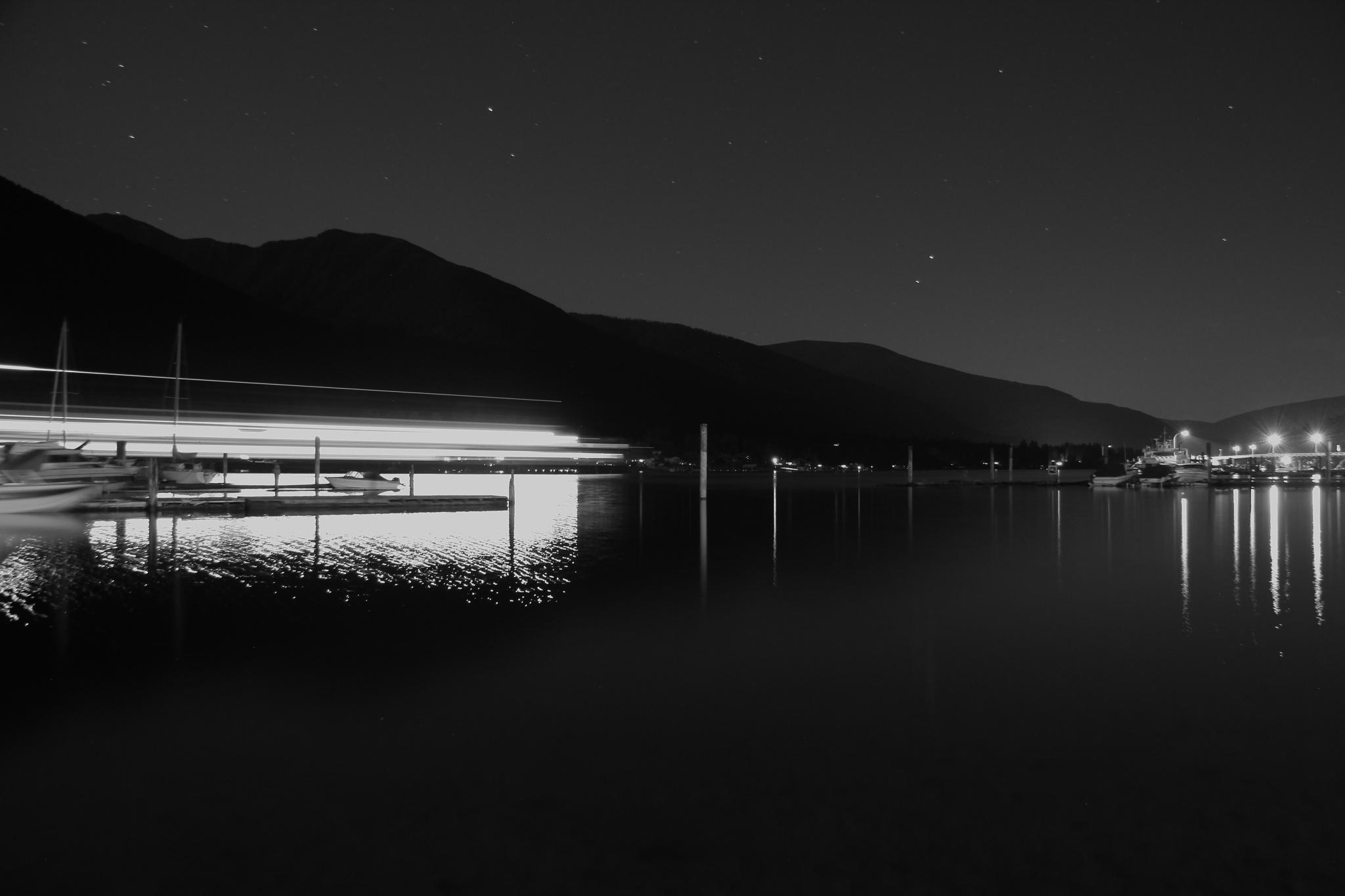 Ferry Lights by Shaun Ashmead